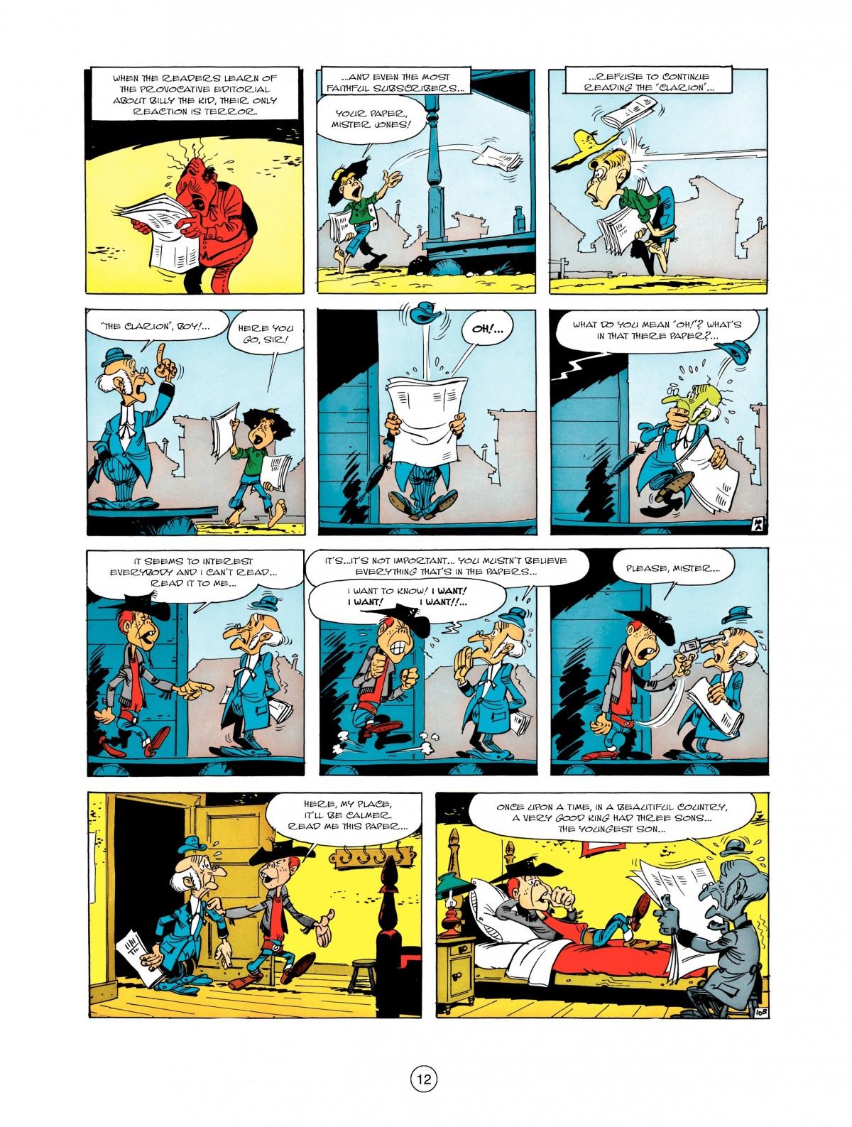 Read online A Lucky Luke Adventure comic -  Issue #1 - 14
