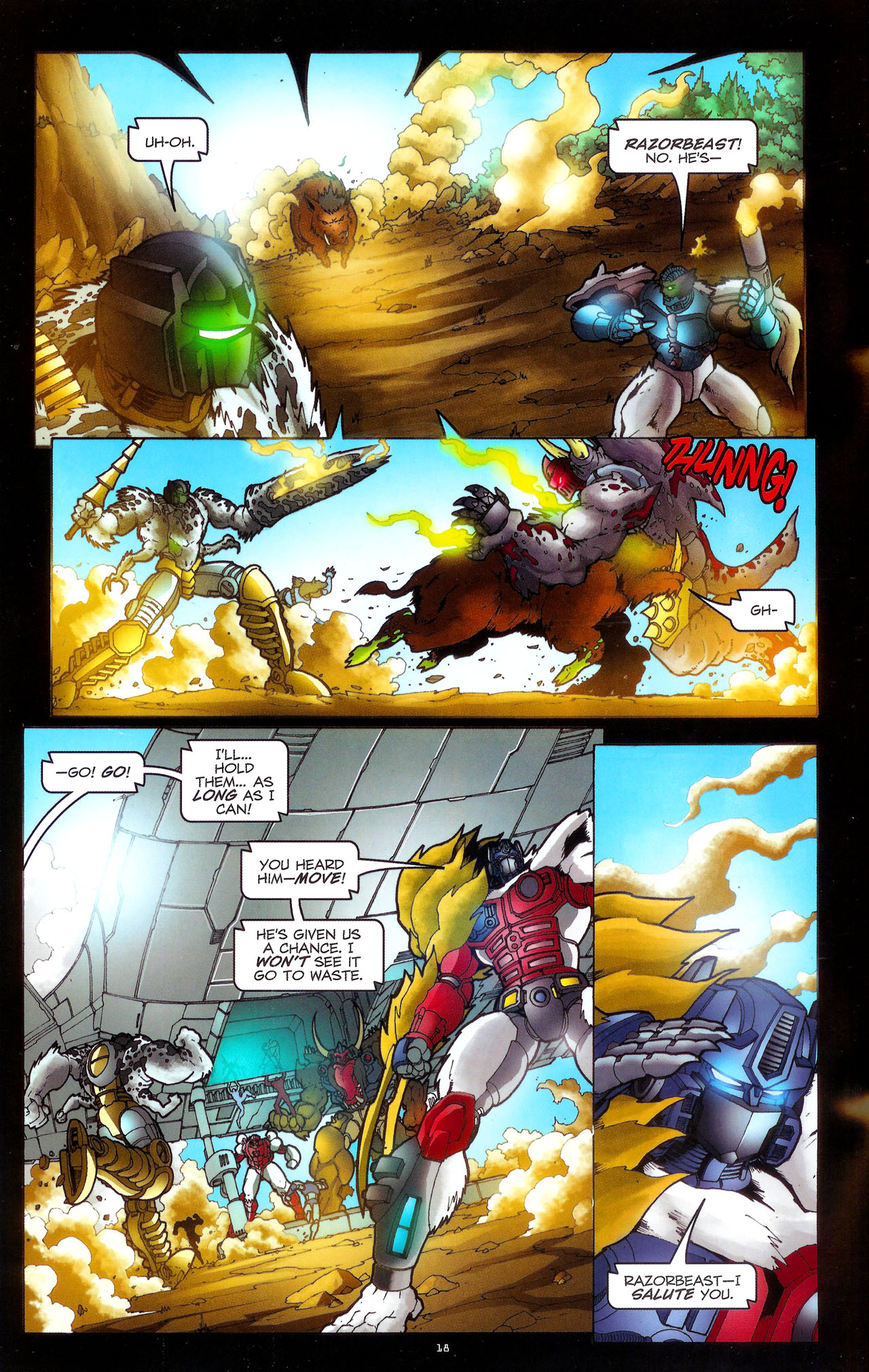 Read online Transformers: Beast Wars: The Ascending comic -  Issue #3 - 21