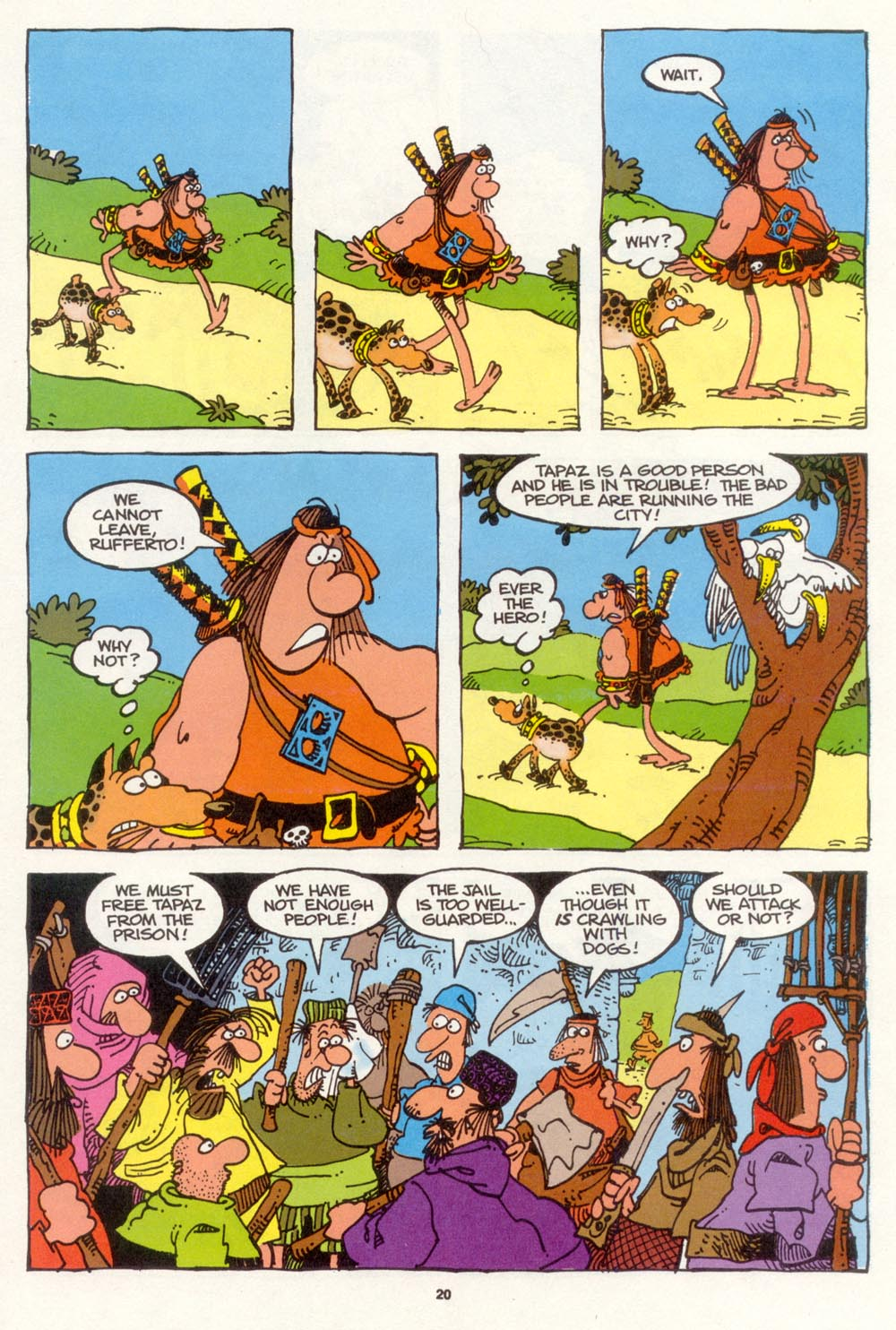 Read online Sergio Aragonés Groo the Wanderer comic -  Issue #107 - 22