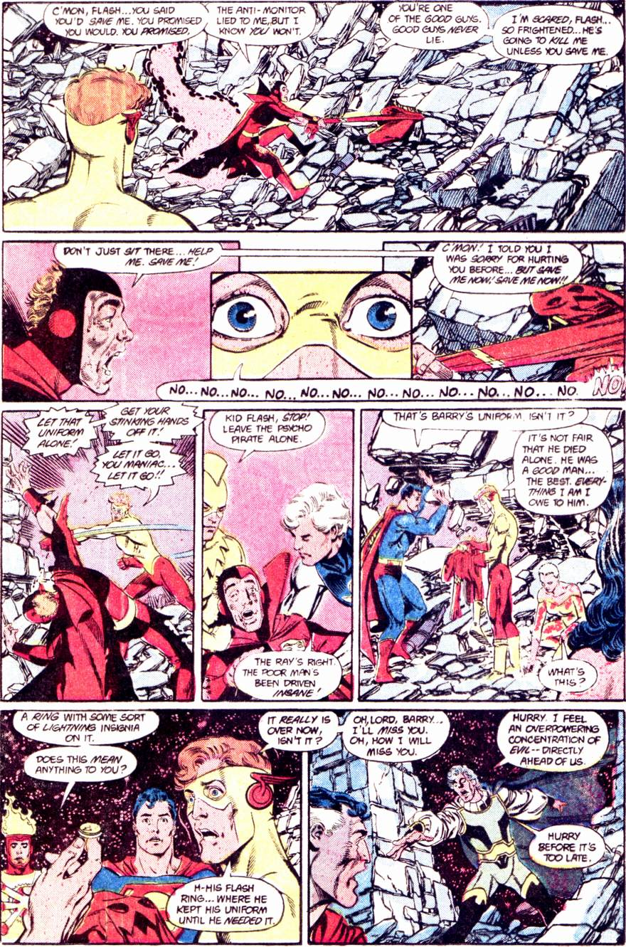 Crisis on Infinite Earths (1985) 12 Page 19