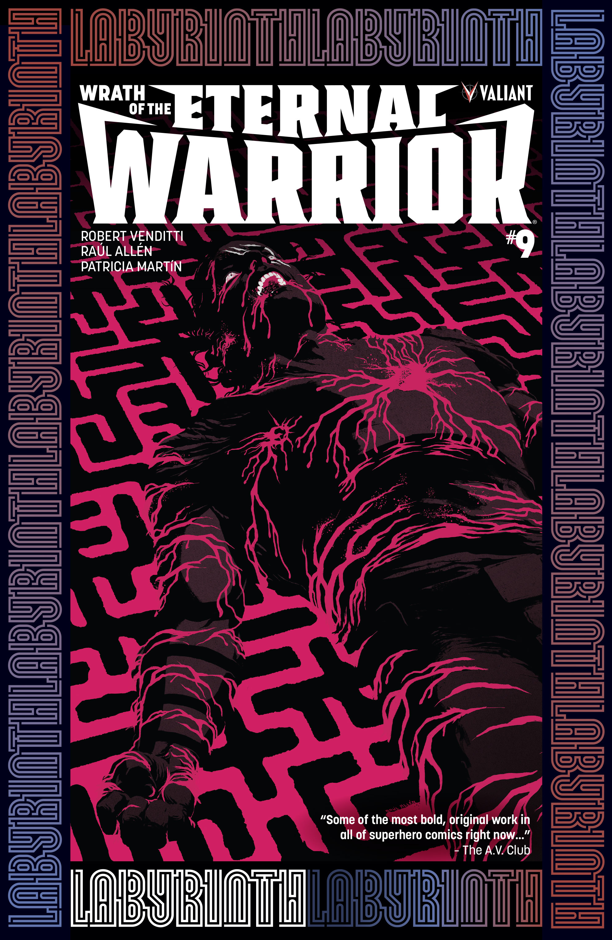 Read online Wrath of the Eternal Warrior comic -  Issue #9 - 1