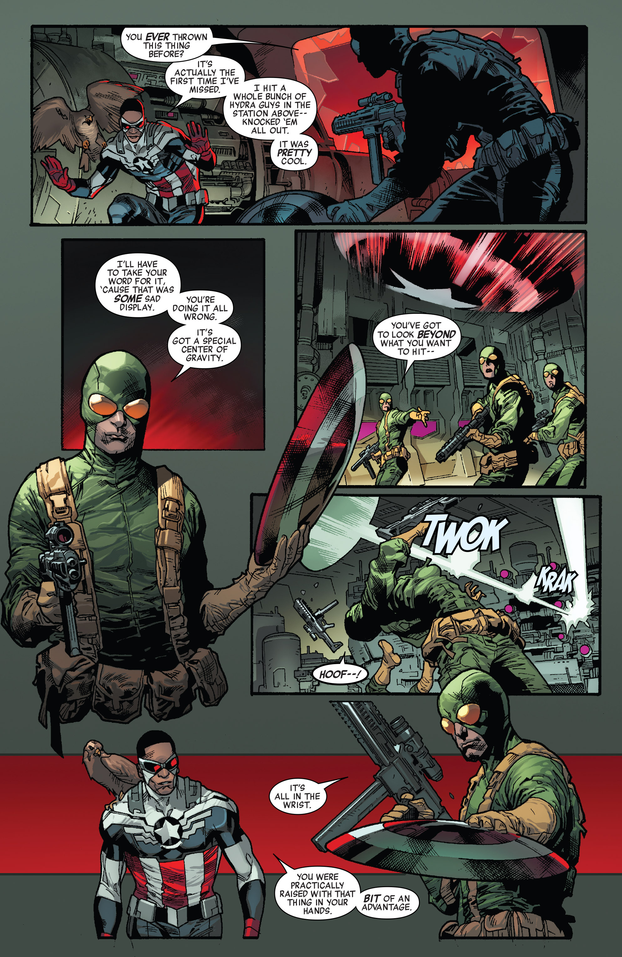 Read online All-New Captain America comic -  Issue #1 - 11