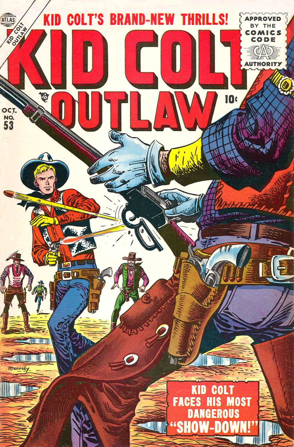 Kid Colt Outlaw issue 53 - Page 1