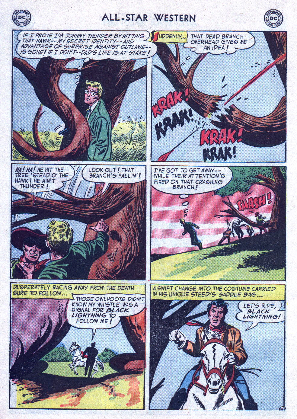 Read online All-Star Western (1951) comic -  Issue #76 - 30