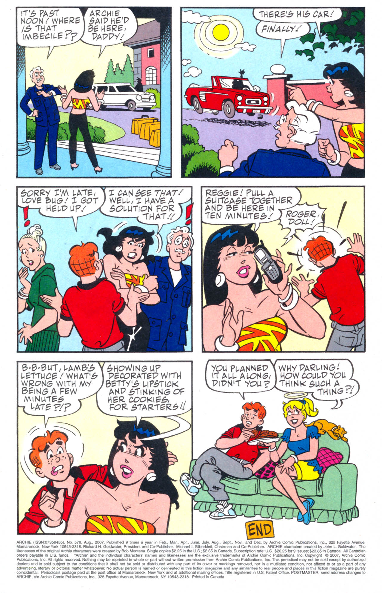 Read online Archie (1960) comic -  Issue #576 - 25