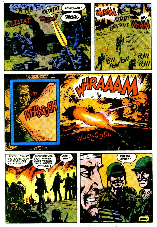 Read online Sgt. Rock comic -  Issue #316 - 22