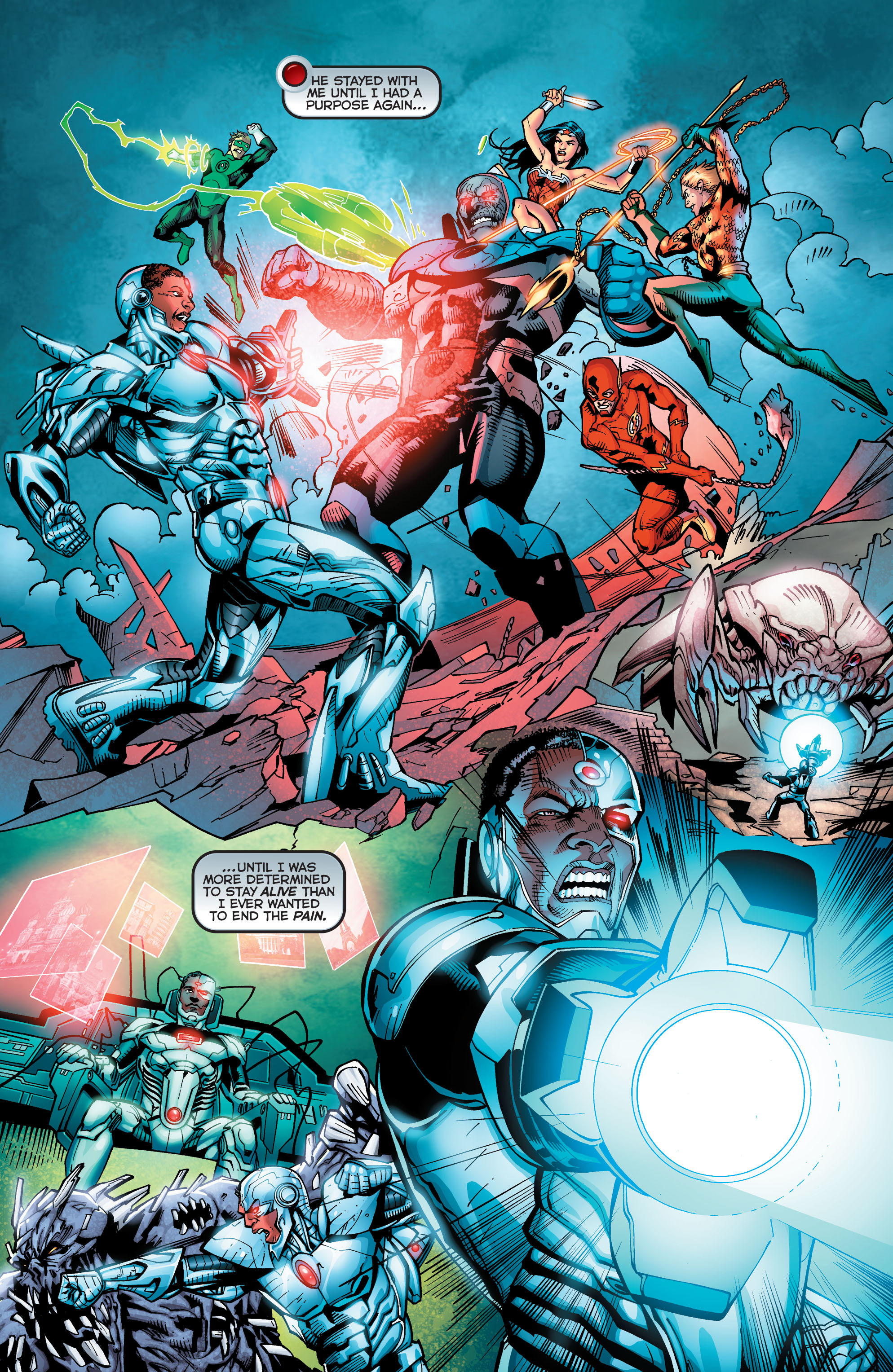 Read online Secret Origins (2014) comic -  Issue #5 - 11