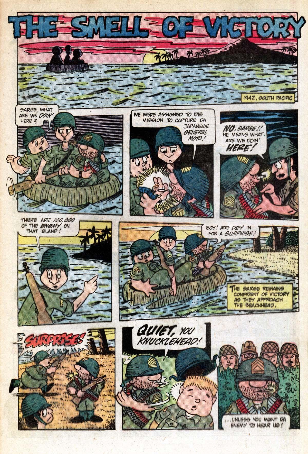 Read online Sgt. Rock comic -  Issue #391 - 19