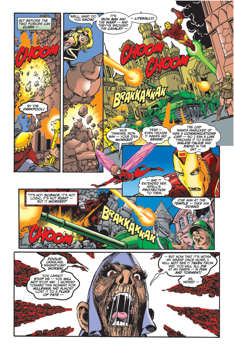 Read online Avengers (1998) comic -  Issue #30 - 11