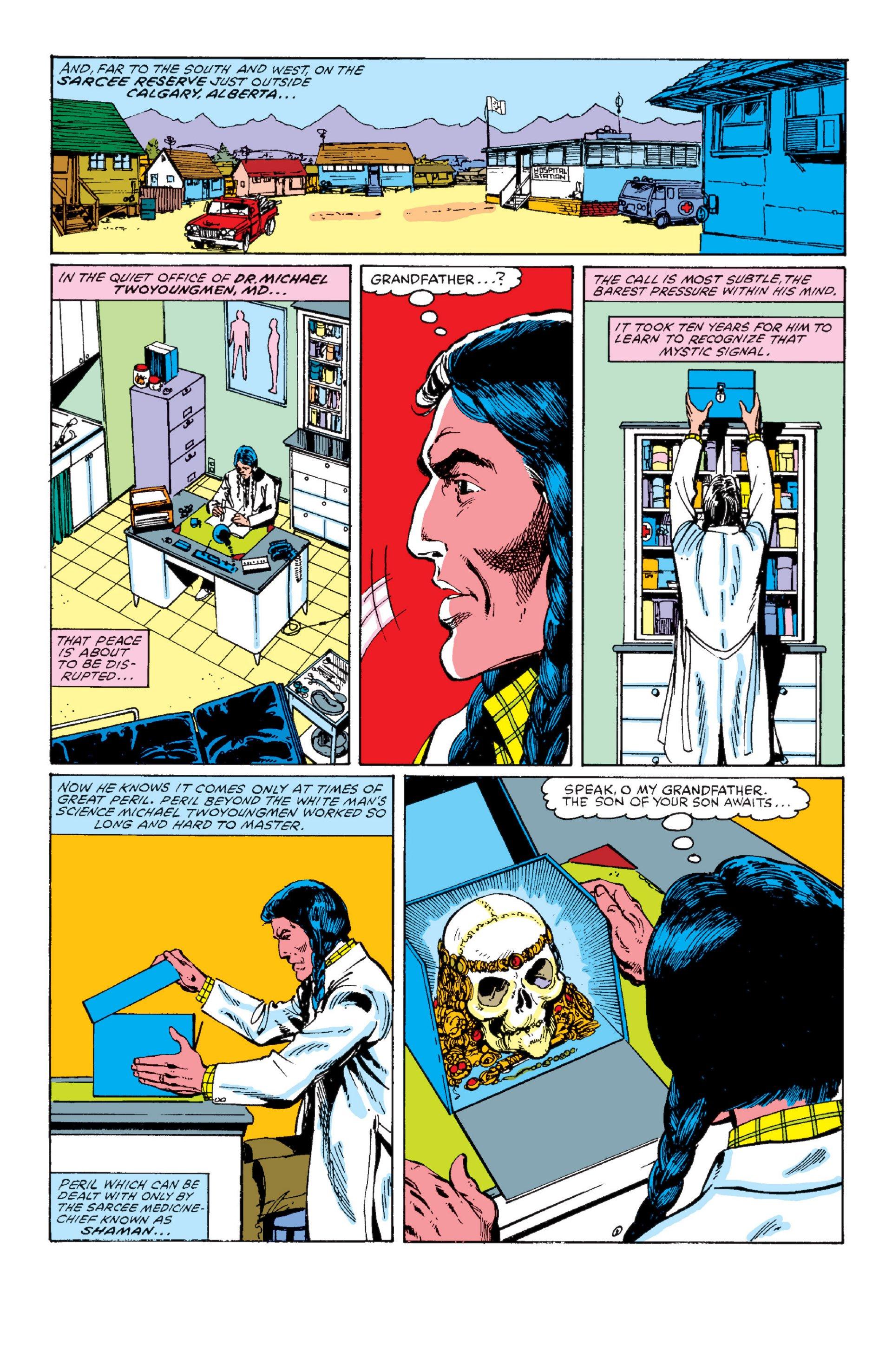 Read online Alpha Flight (1983) comic -  Issue #1 - 8