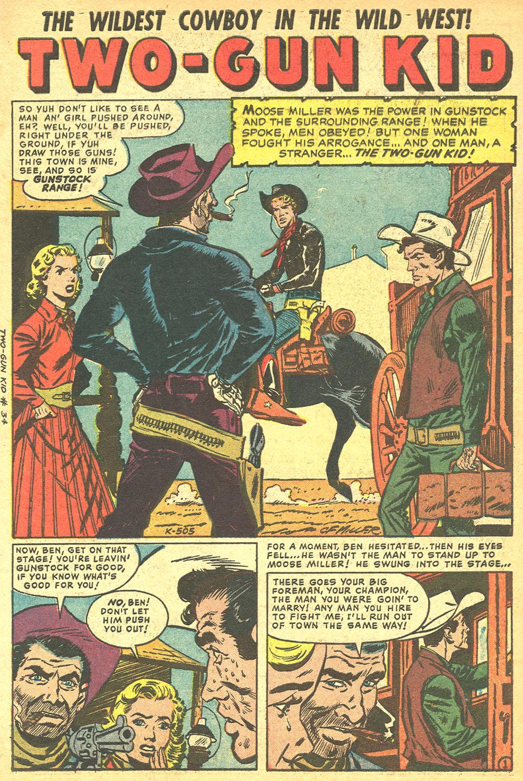 Read online Two-Gun Kid comic -  Issue #34 - 3