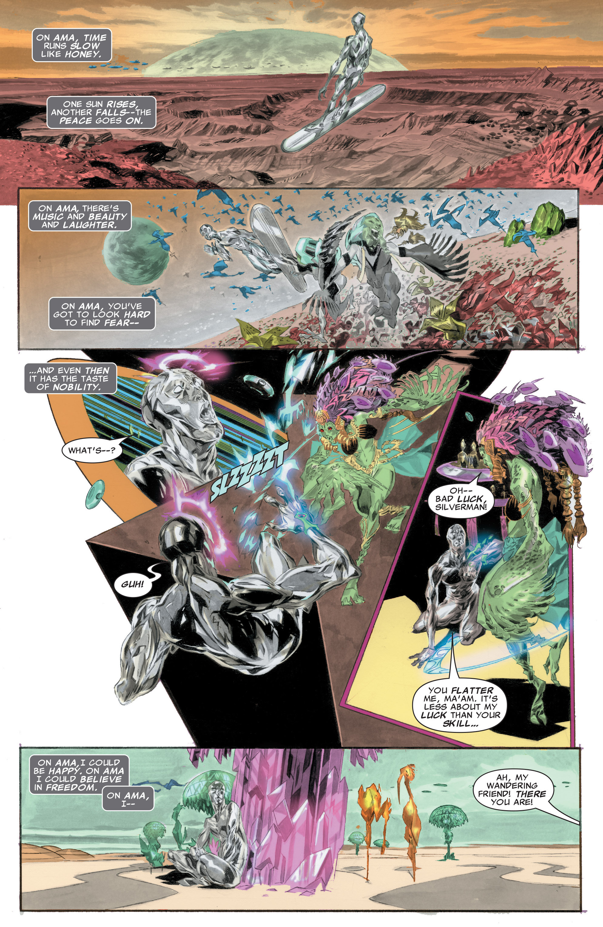 Read online Silver Surfer: In Thy Name comic -  Issue #1 - 16