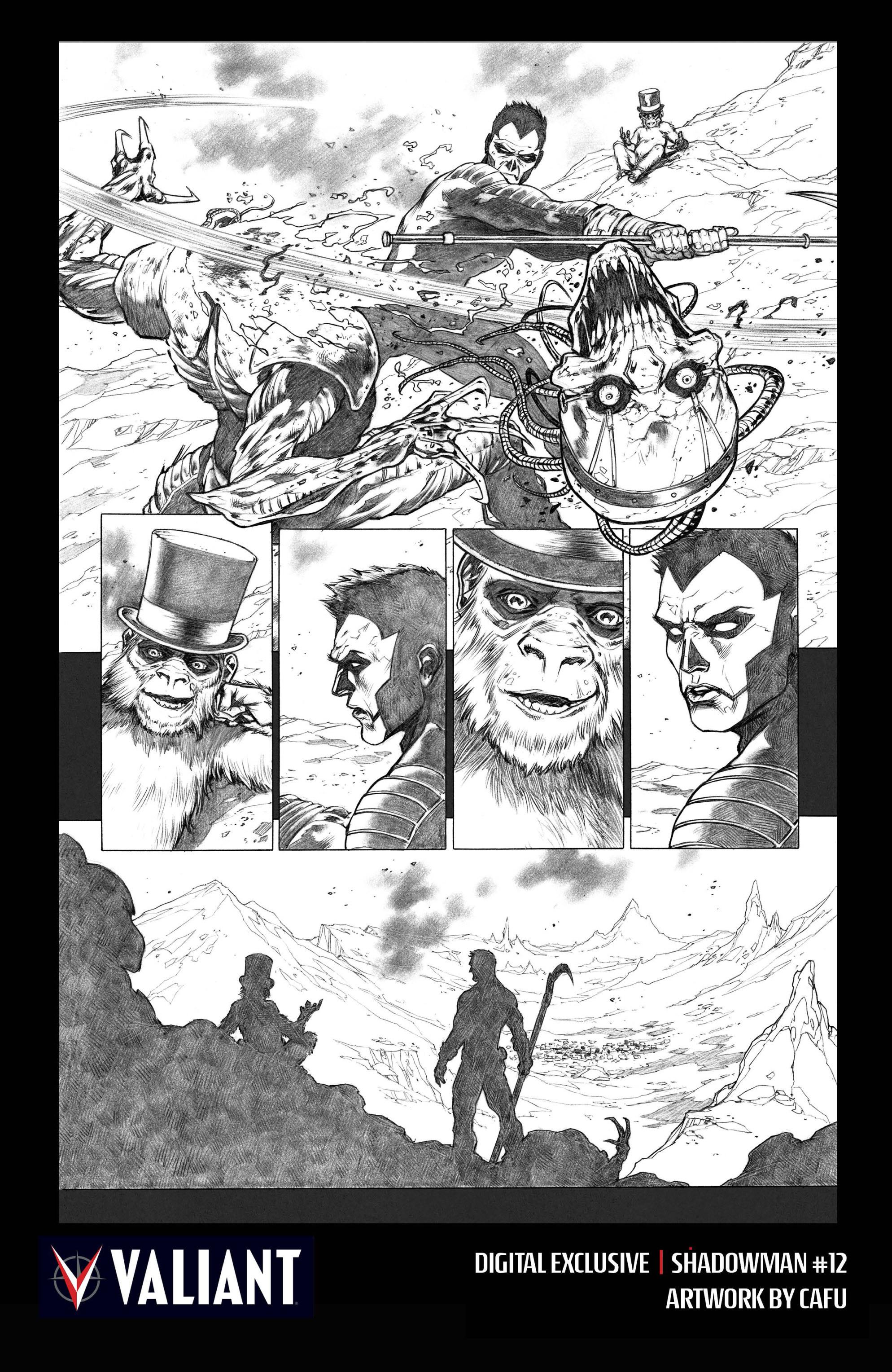Read online Shadowman (2012) comic -  Issue #12 - 30
