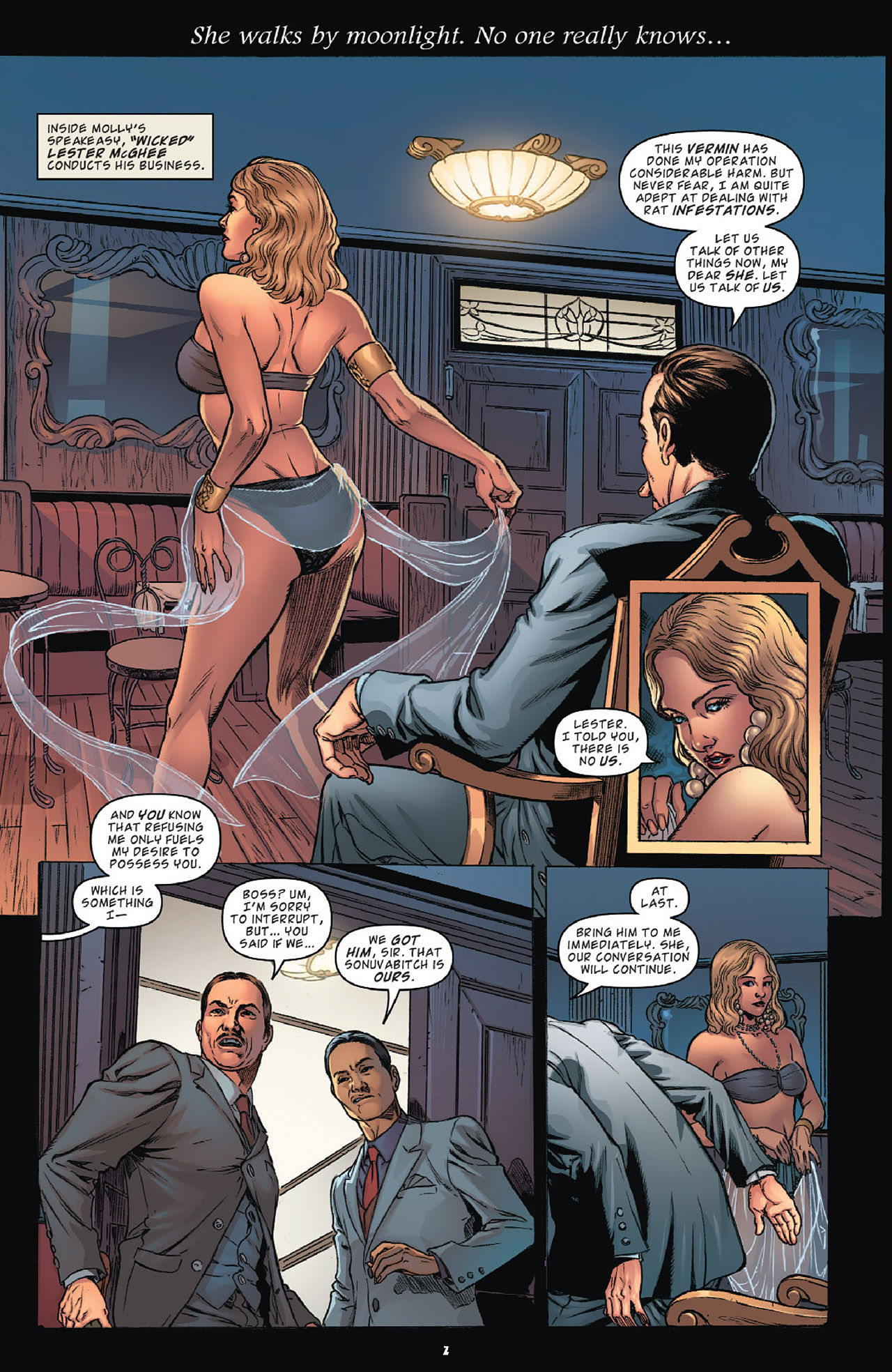 Read online KISS (2012) comic -  Issue #1 - 5