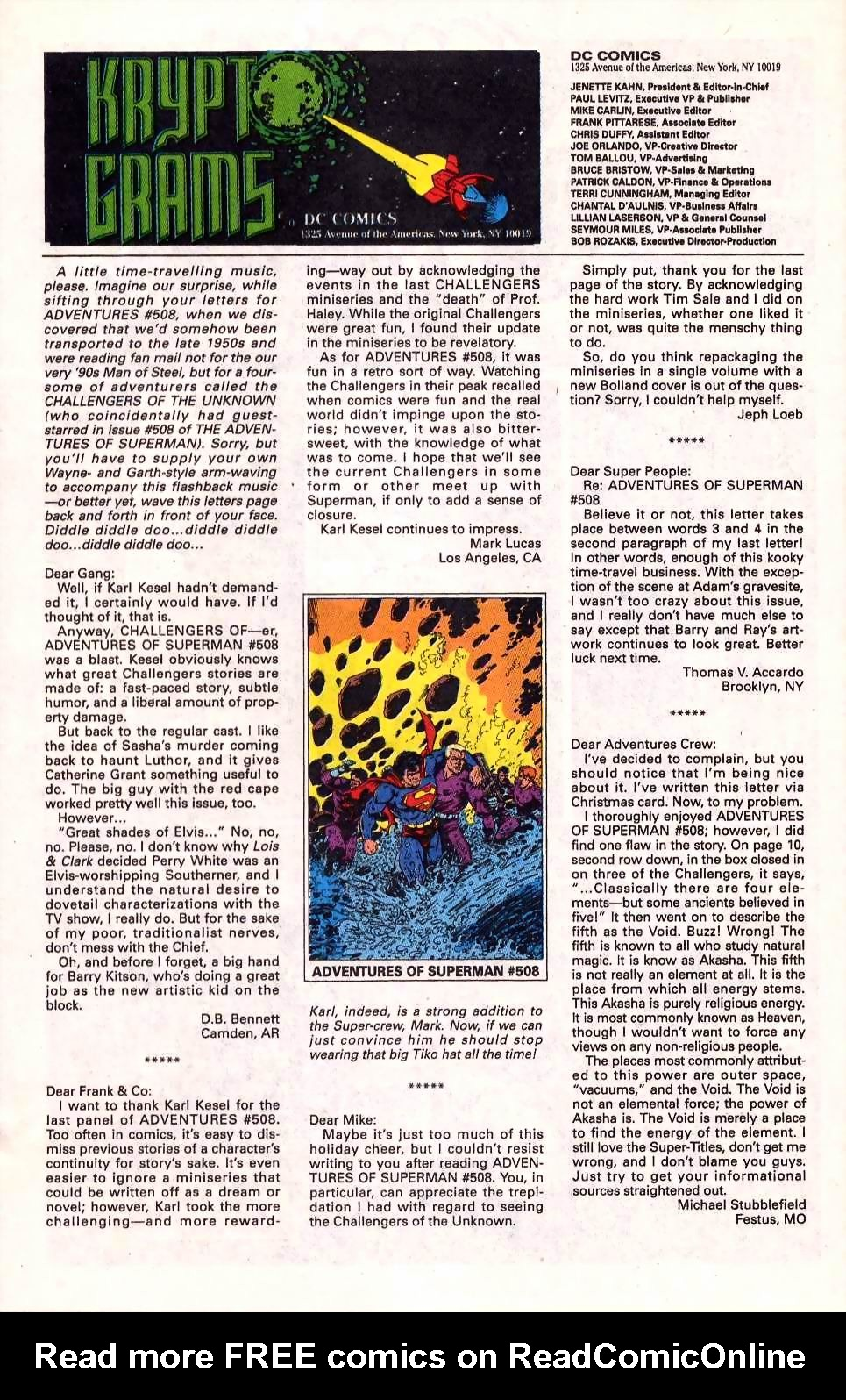 Read online Adventures of Superman (1987) comic -  Issue #512 - 24