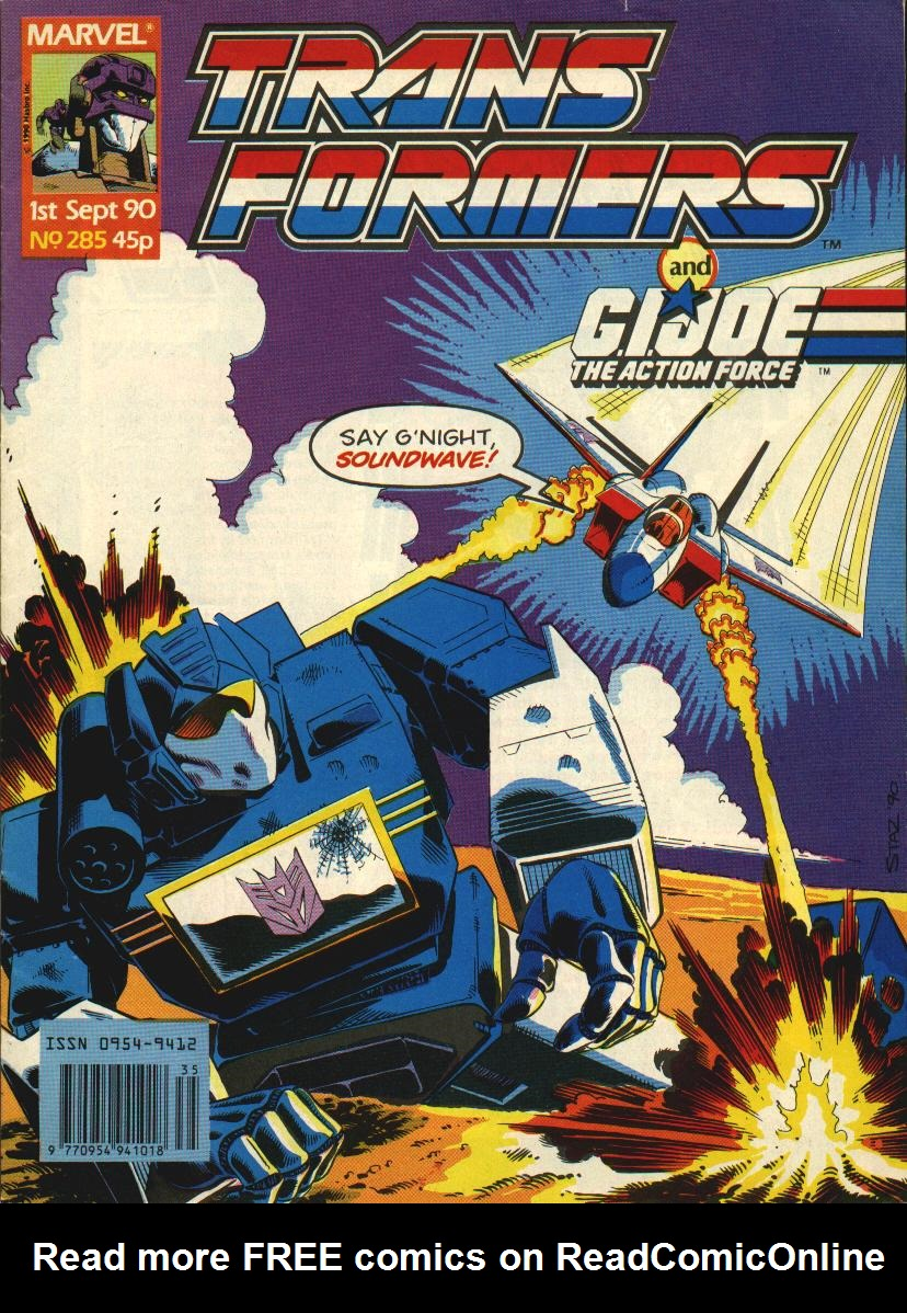 The Transformers (UK) 285 Page 1