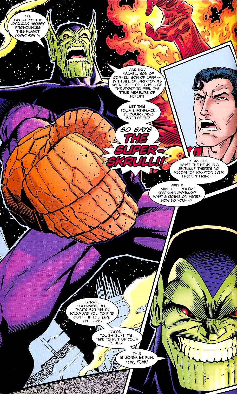 Read online Silver Surfer/Superman comic -  Issue # Full - 12