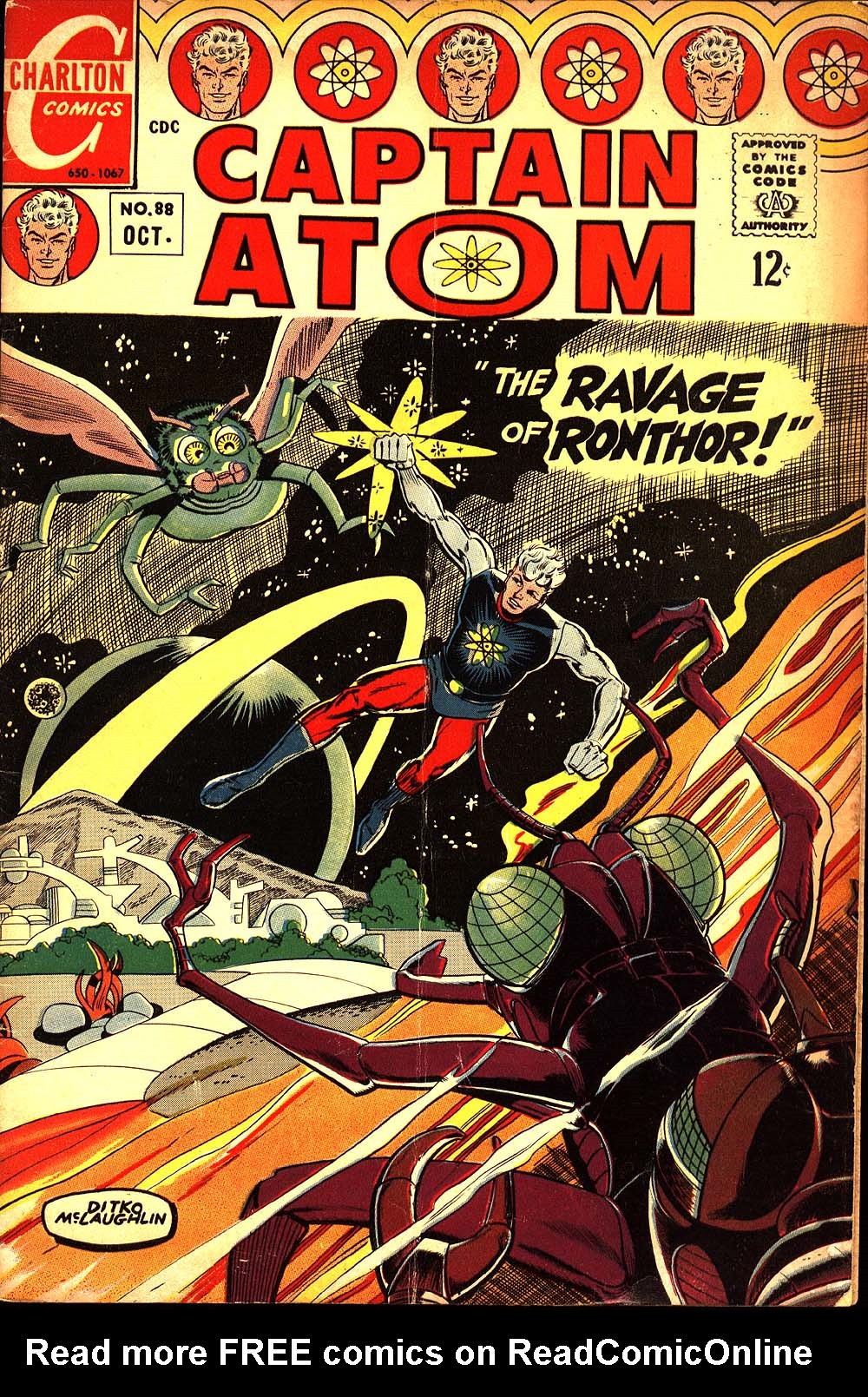 Captain Atom (1965) 88 Page 1
