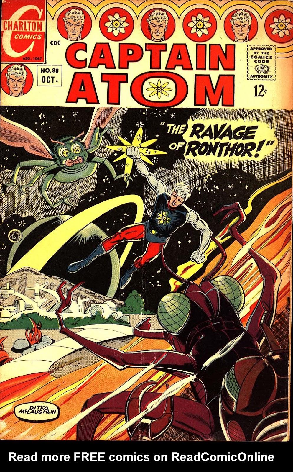 Captain Atom (1965) 88 Page 1