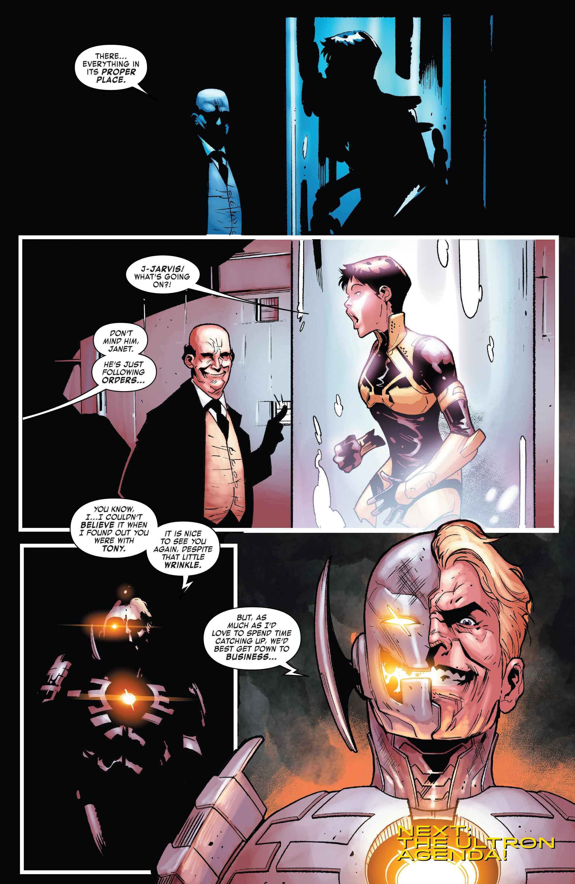 Read online Tony Stark: Iron Man comic -  Issue #15 - 22