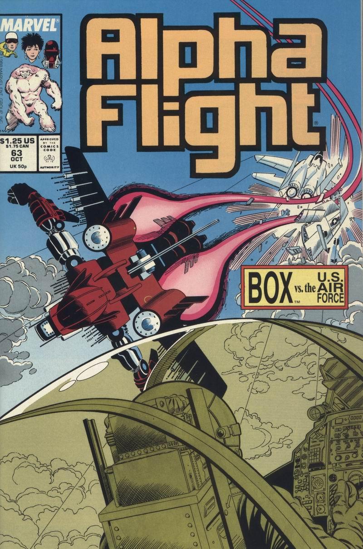 Read online Alpha Flight (1983) comic -  Issue #63 - 1