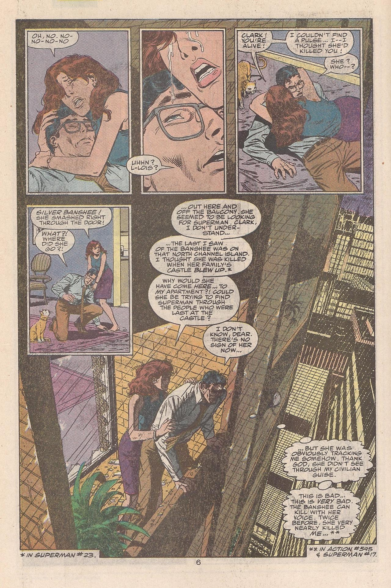 Read online Action Comics (1938) comic -  Issue #662 - 10