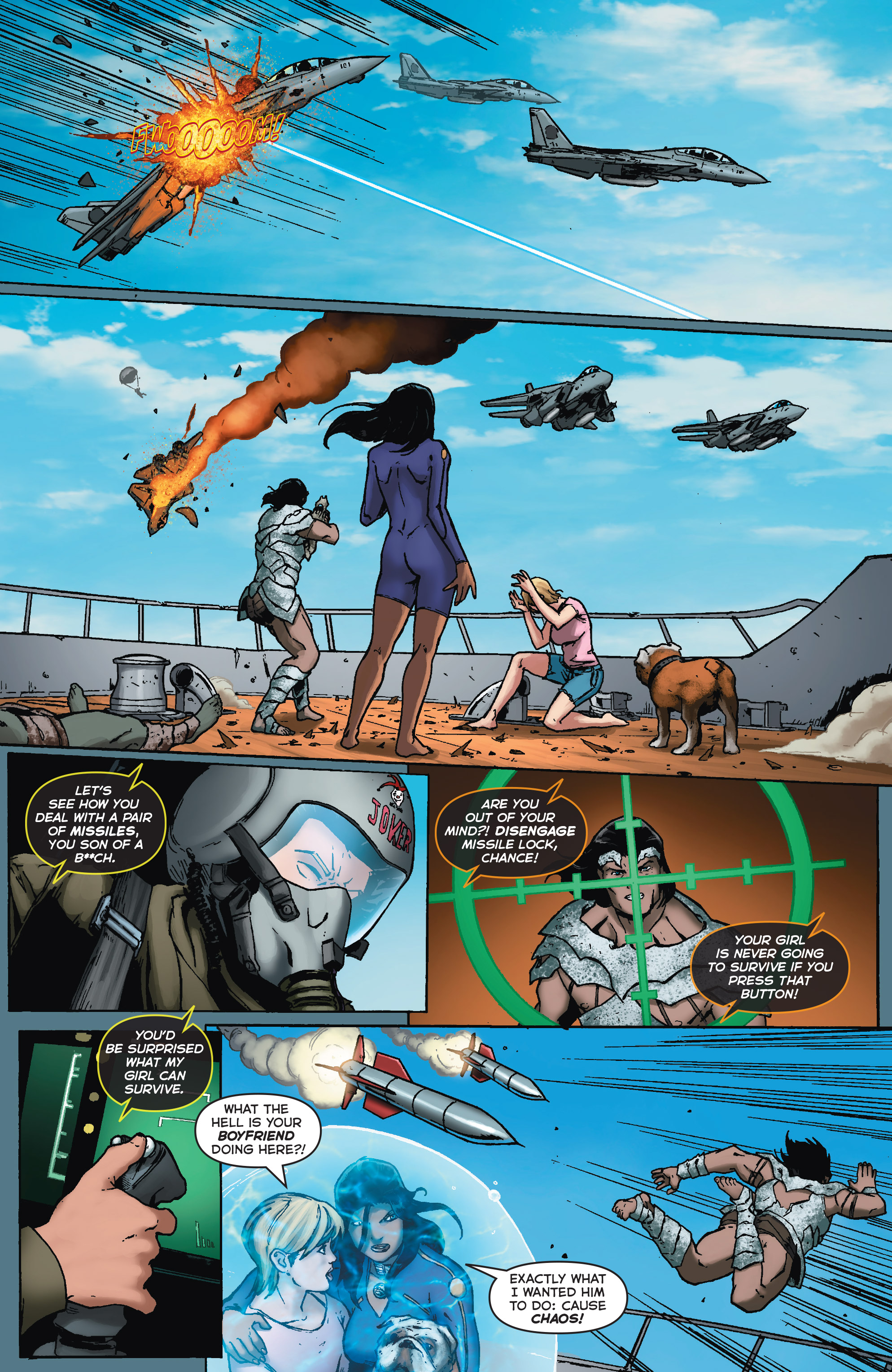 Read online Fathom (2017) comic -  Issue #5 - 20