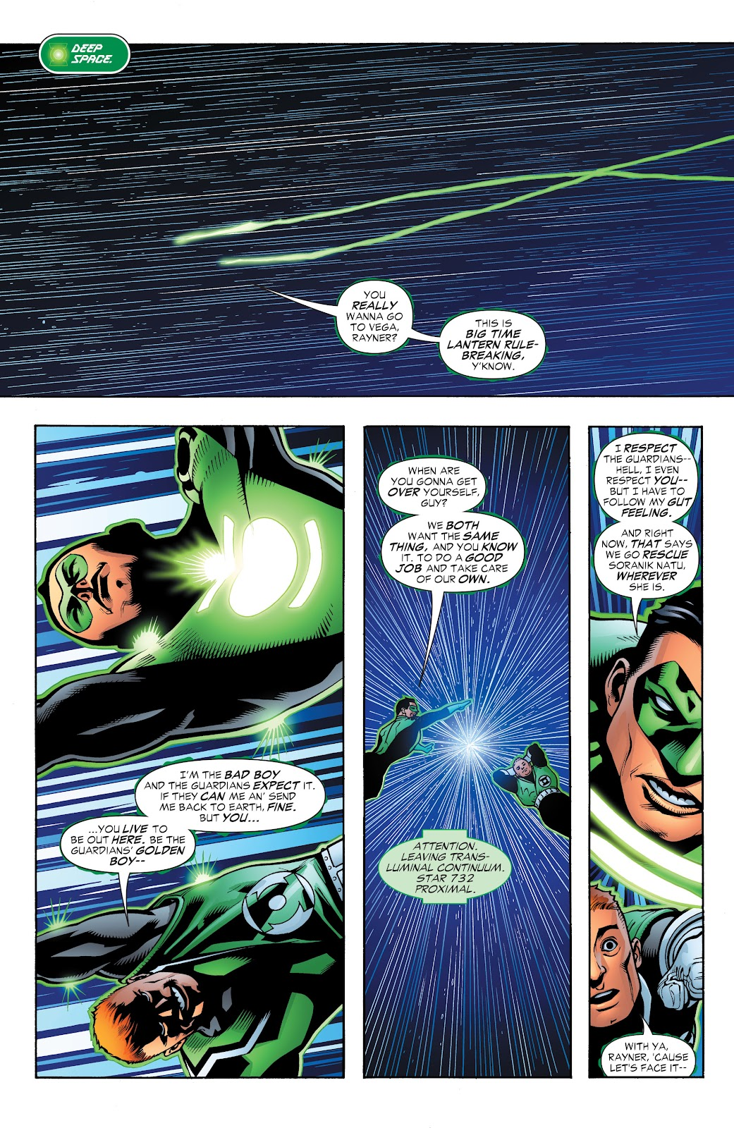 Read online Green Lantern by Geoff Johns comic -  Issue # TPB 1 (Part 3) - 31