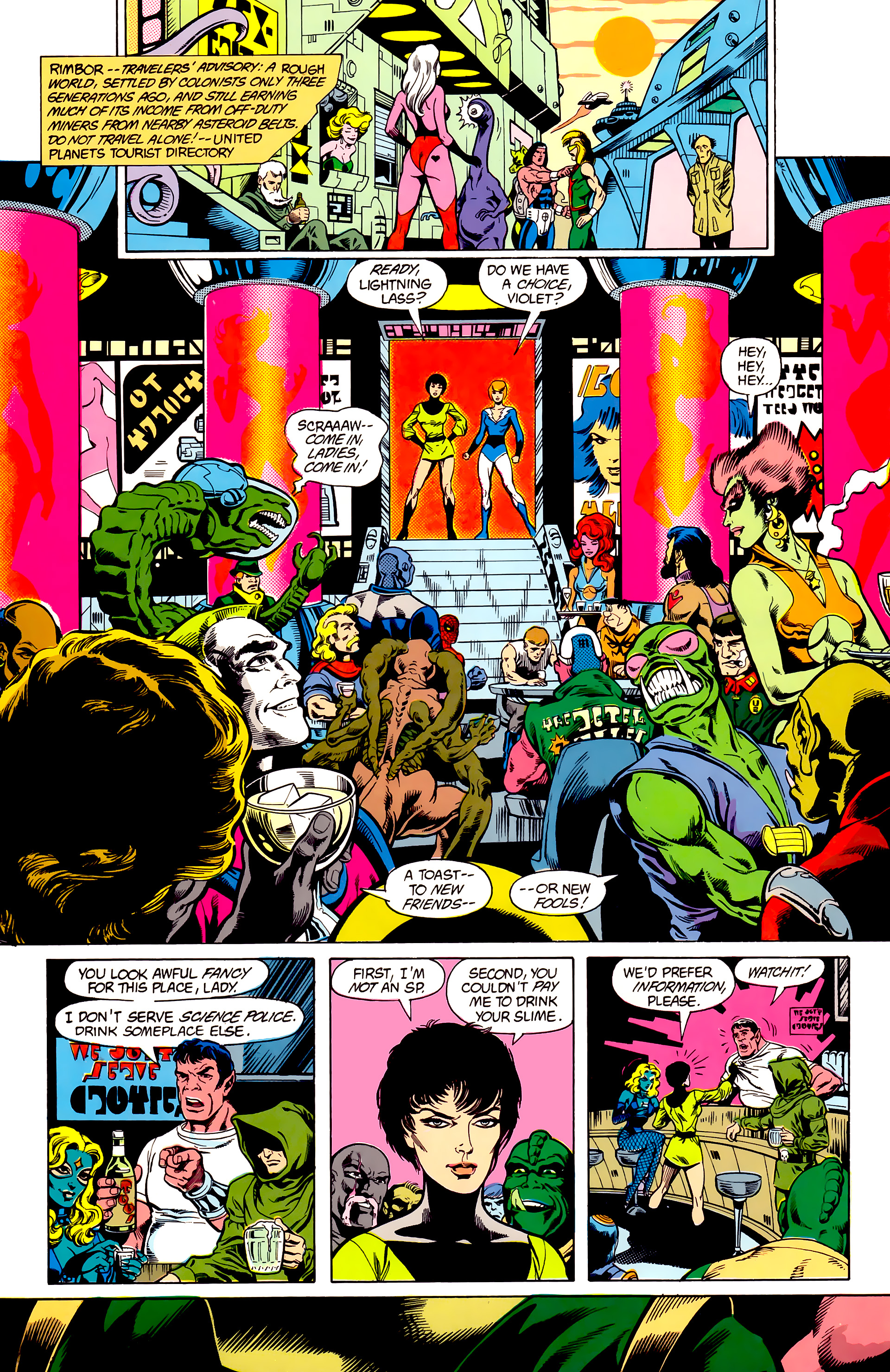 Legion of Super-Heroes (1984) 23 Page 7