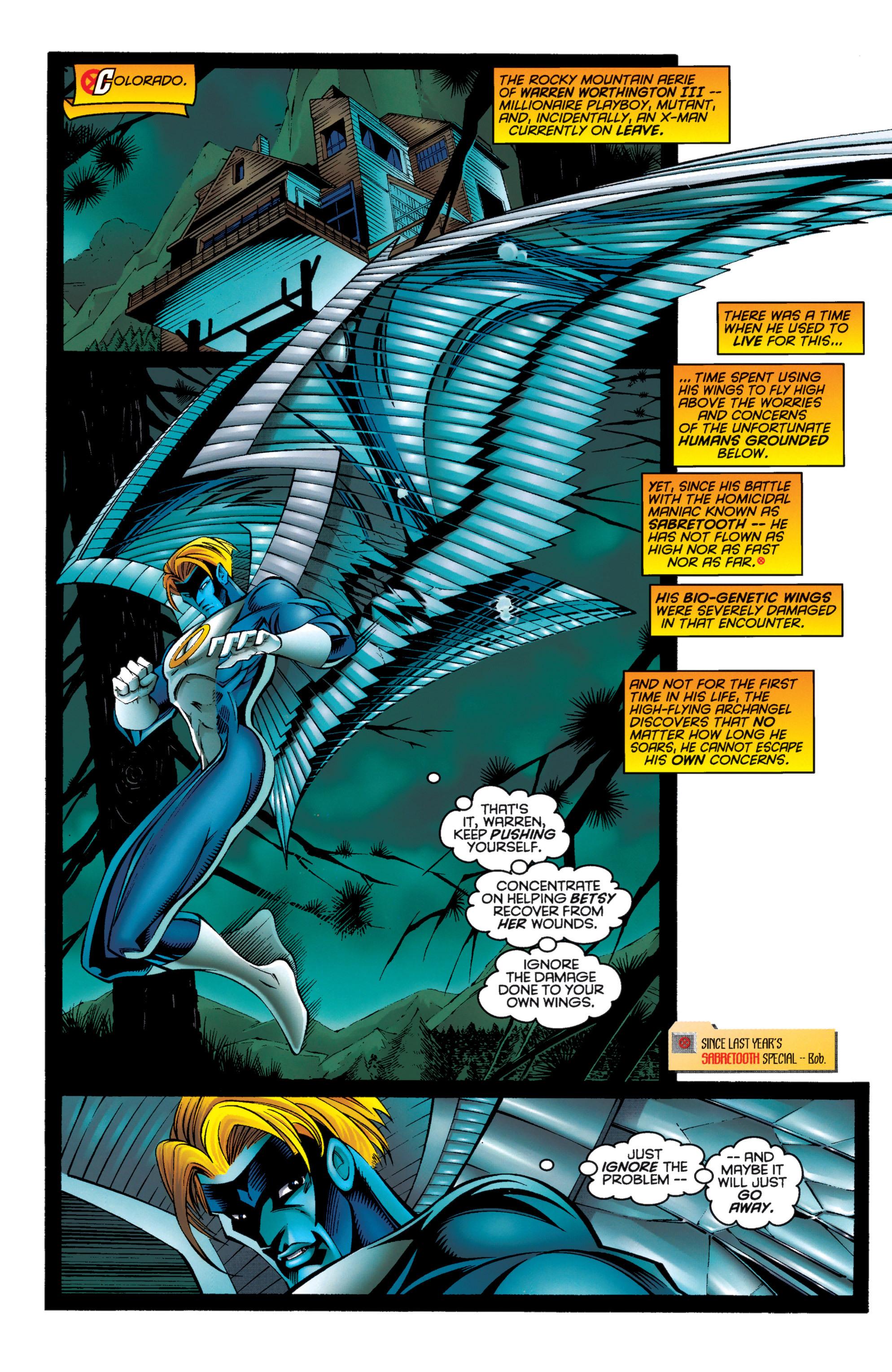 Read online Uncanny X-Men (1963) comic -  Issue #333 - 7