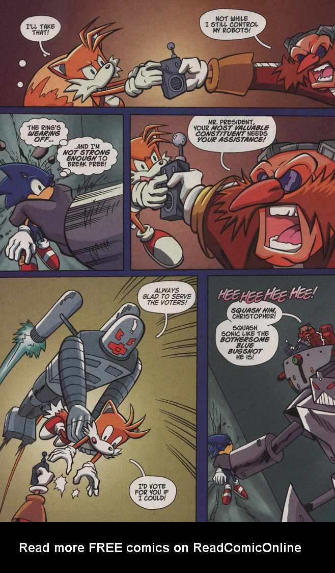 Read online Sonic X comic -  Issue #4 - 22