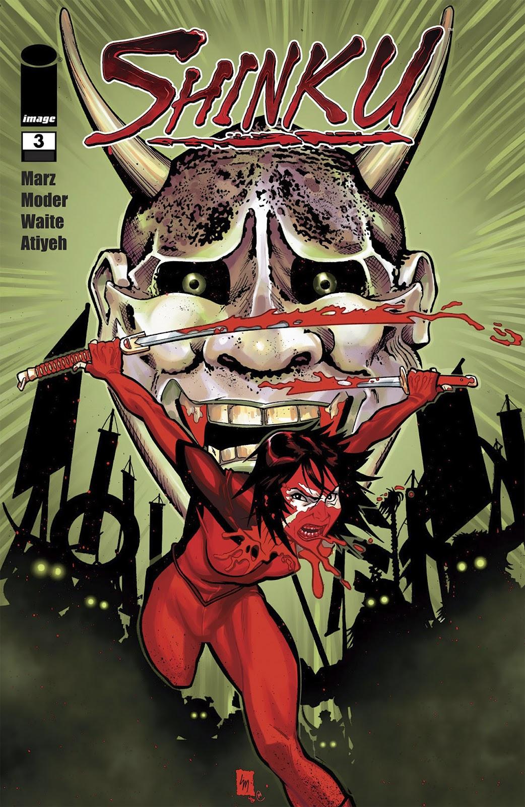 Read online Shinku comic -  Issue #3 - 1