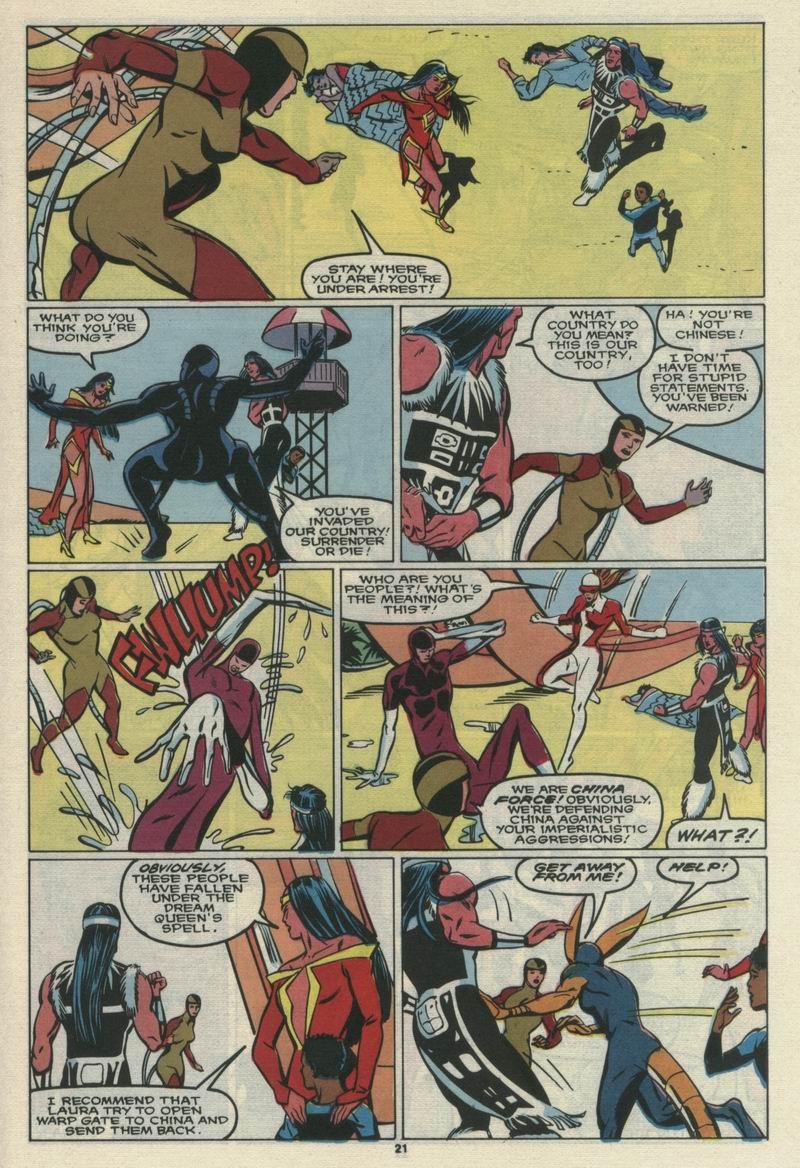Read online Alpha Flight (1983) comic -  Issue #69 - 23
