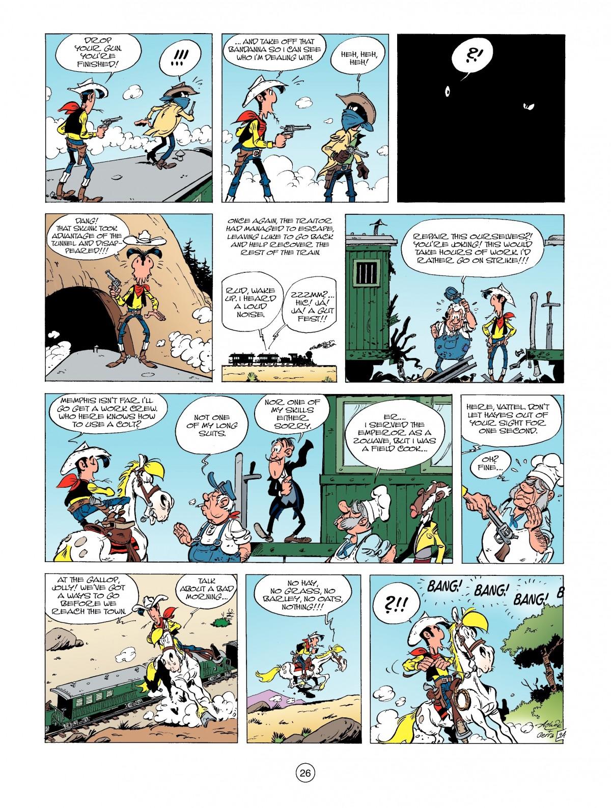 Read online A Lucky Luke Adventure comic -  Issue #39 - 26