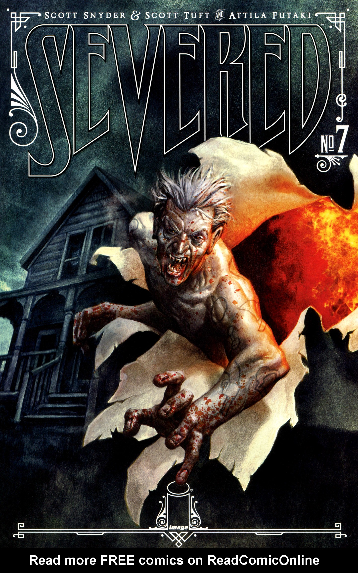 Read online Severed comic -  Issue #7 - 1