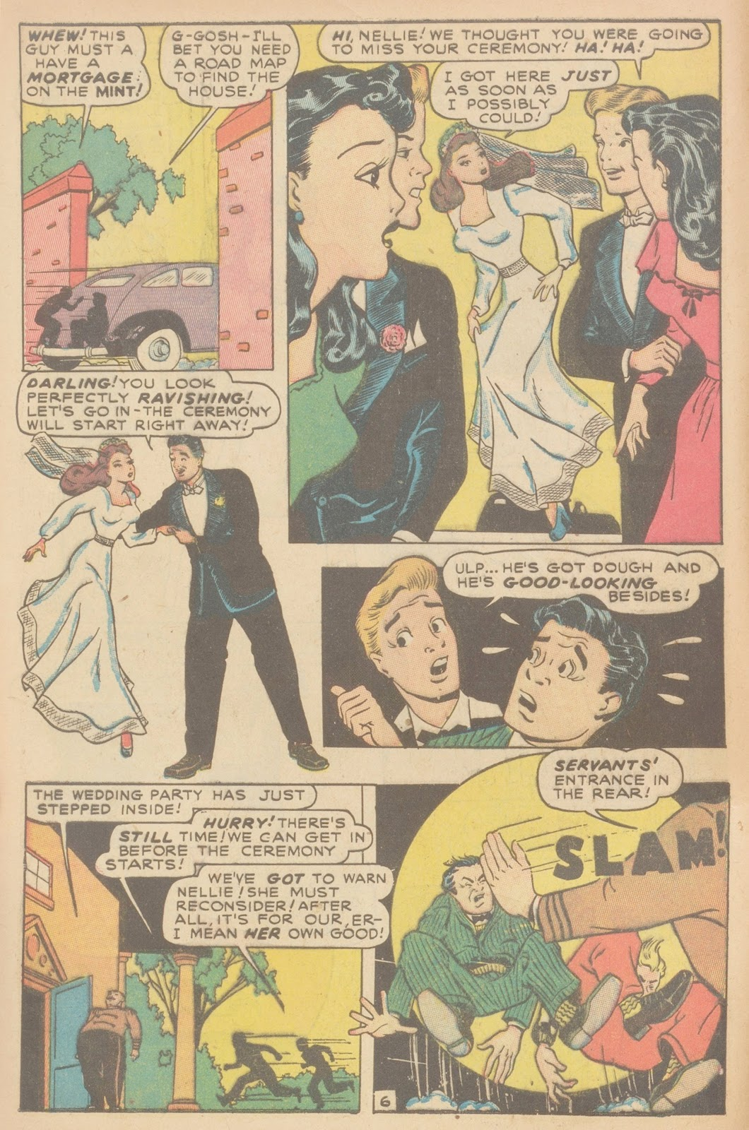 Read online Nellie The Nurse (1945) comic -  Issue #11 - 8