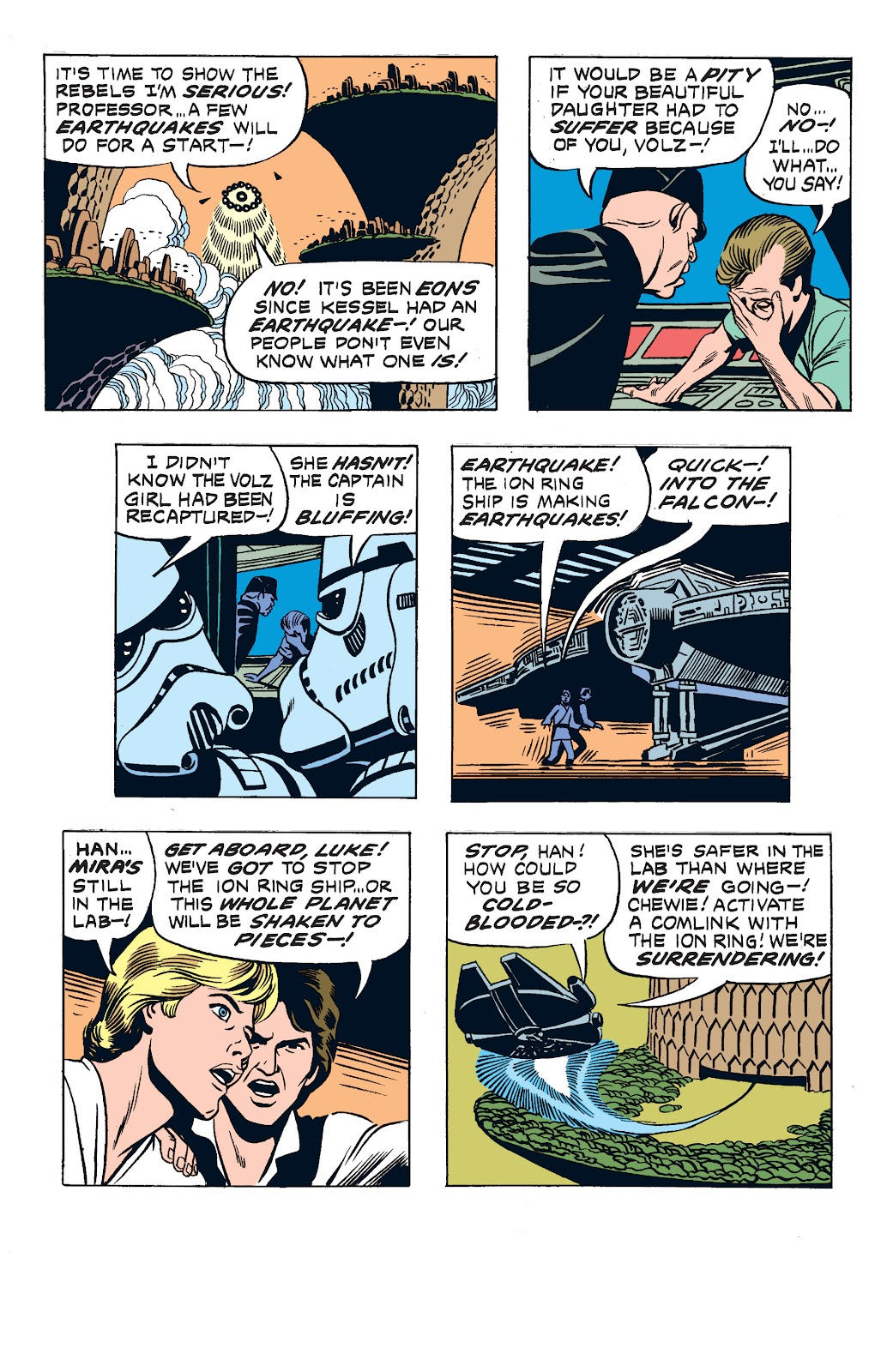 Read online Star Wars Legends: The Newspaper Strips - Epic Collection comic -  Issue # TPB (Part 2) - 93