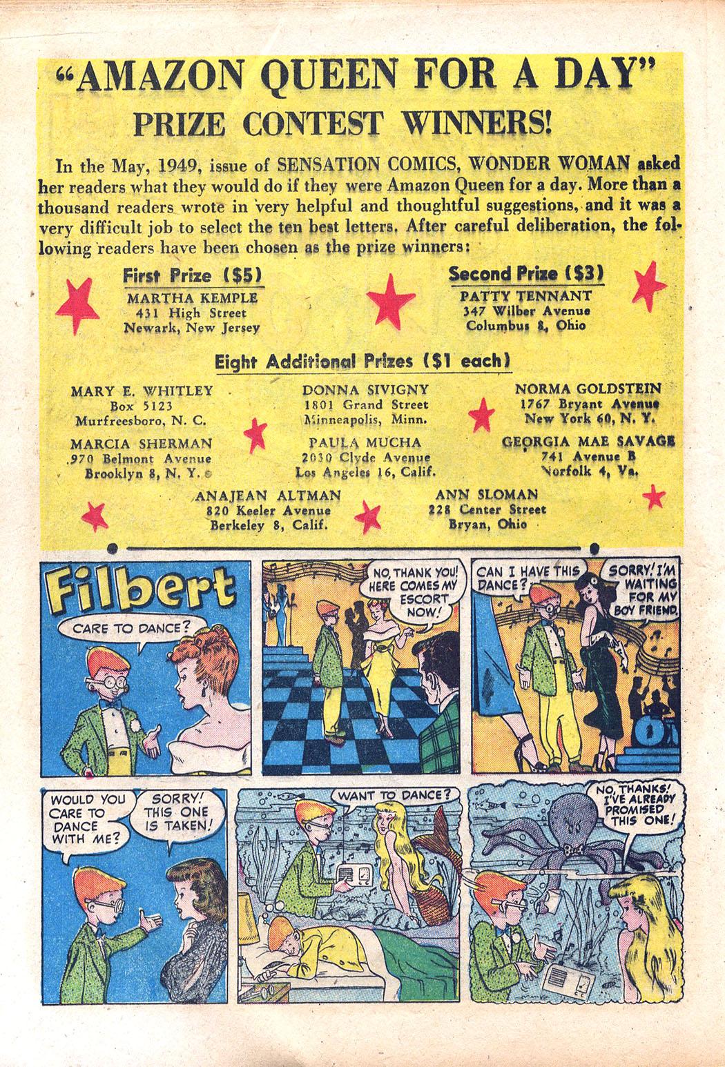 Read online Sensation (Mystery) Comics comic -  Issue #94 - 22