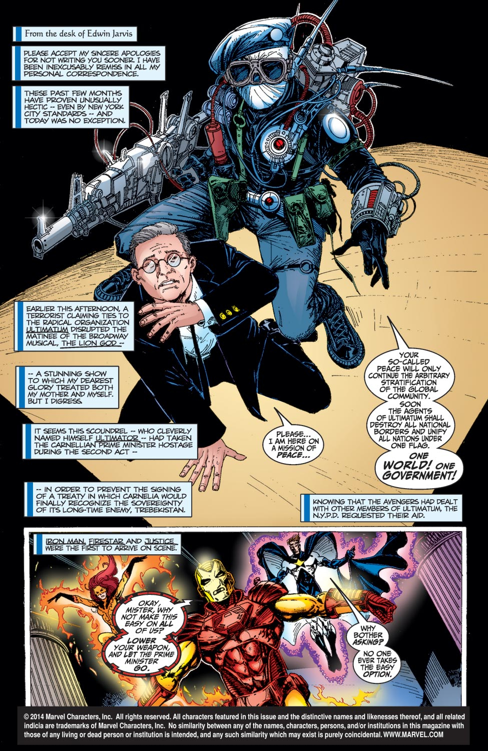 Avengers (1998) issue _Annual_1 - Page 2