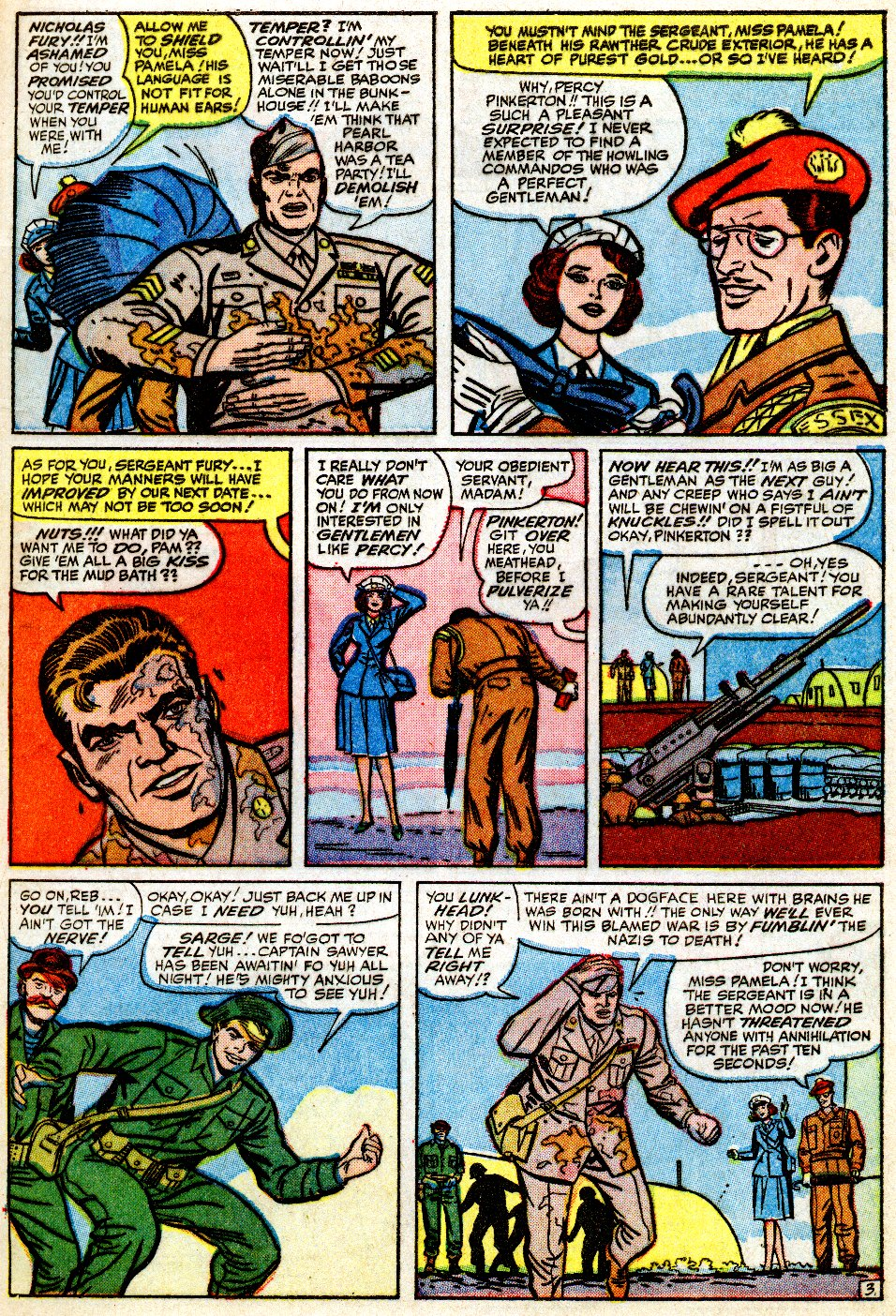 Read online Sgt. Fury comic -  Issue #9 - 5