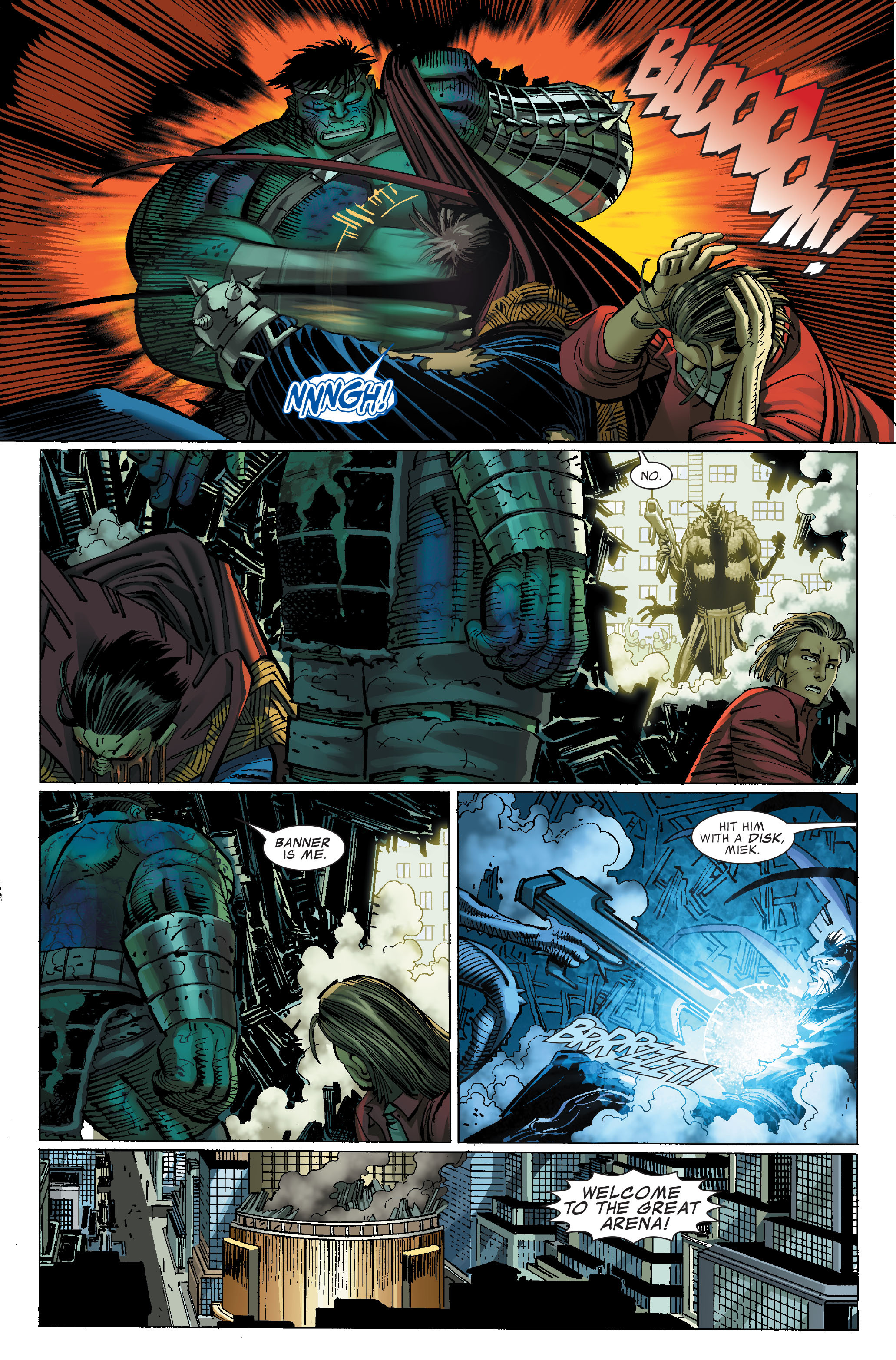 Read online World War Hulk comic -  Issue #4 - 16
