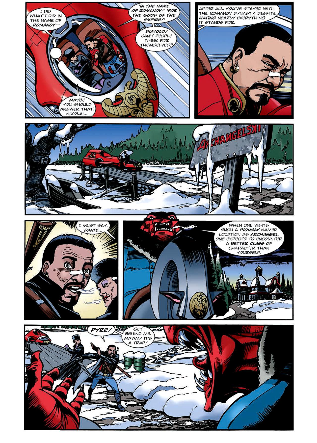 Read online Nikolai Dante comic -  Issue # TPB 4 - 119