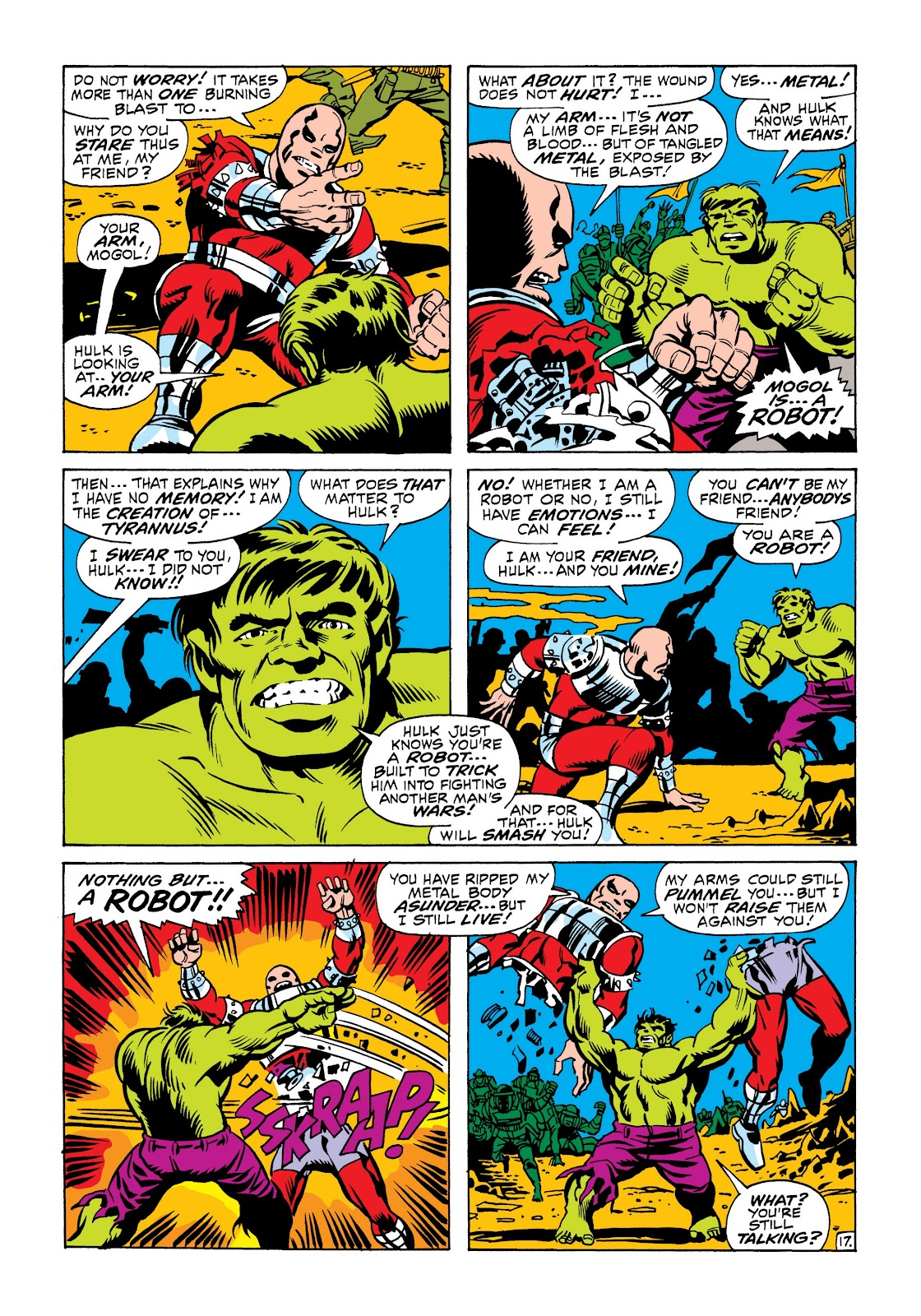 Read online Marvel Masterworks: The Incredible Hulk comic -  Issue # TPB 6 (Part 2) - 30