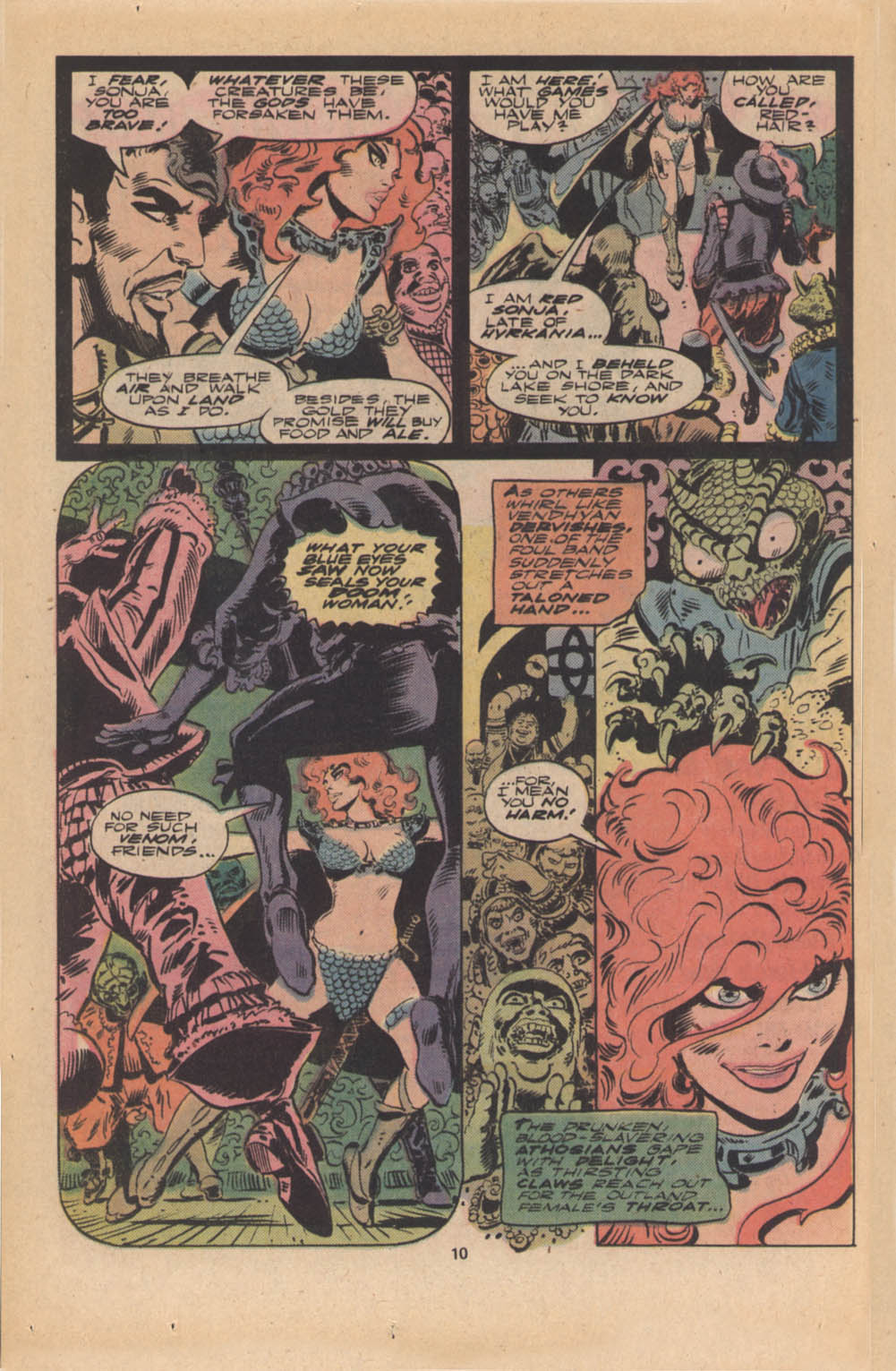 Red Sonja (1977) issue 4 - Page 7