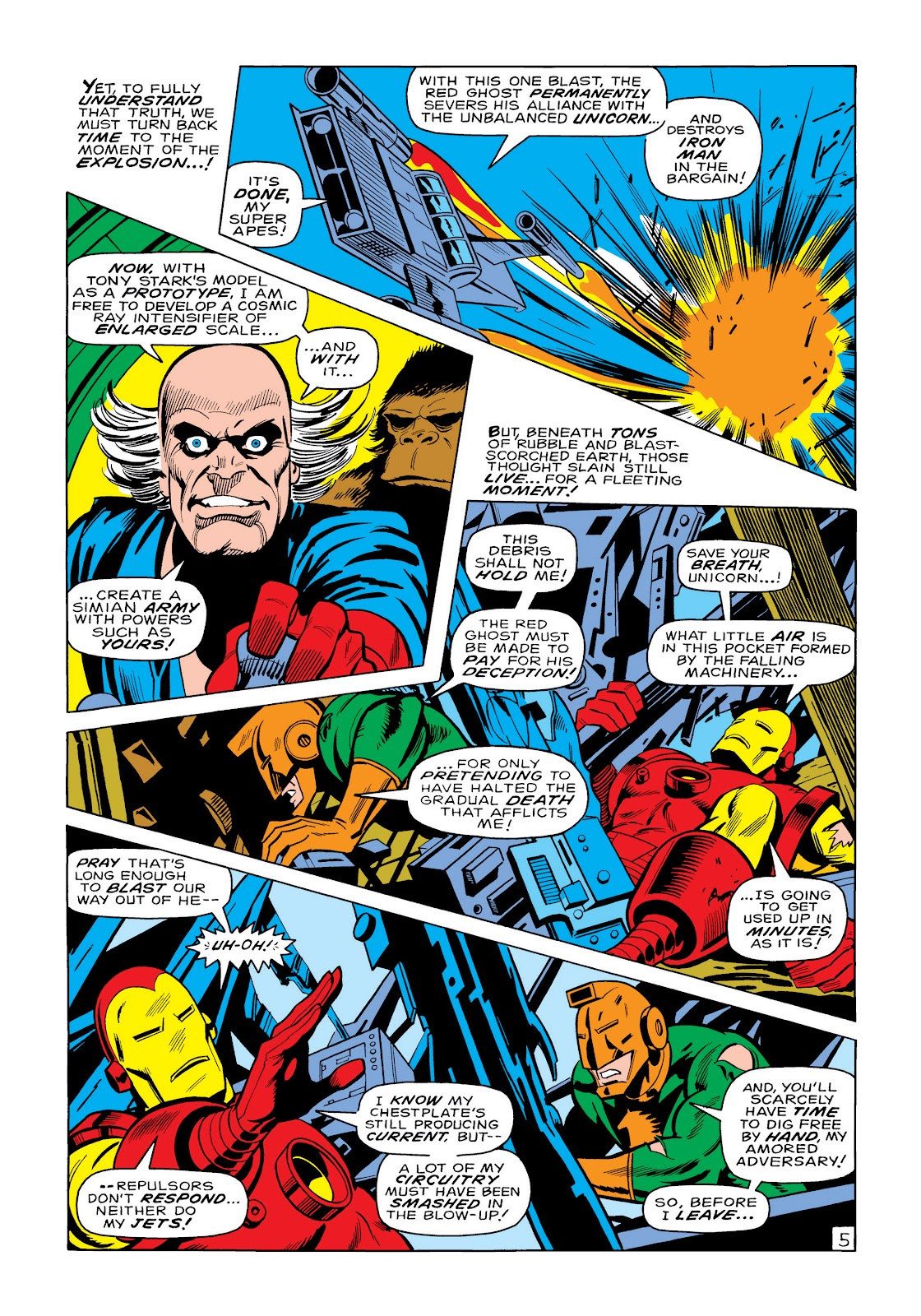 Read online Marvel Masterworks: The Invincible Iron Man comic -  Issue # TPB 6 (Part 1) - 53