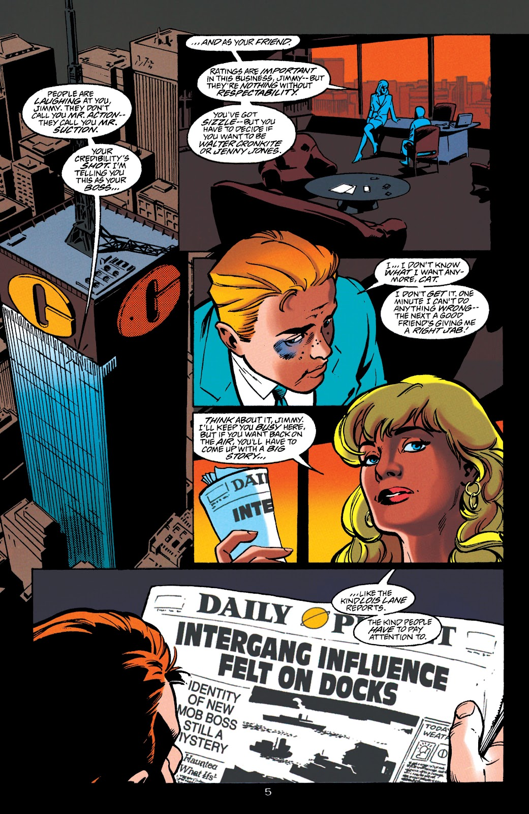Adventures of Superman (1987) issue 549 - Page 5