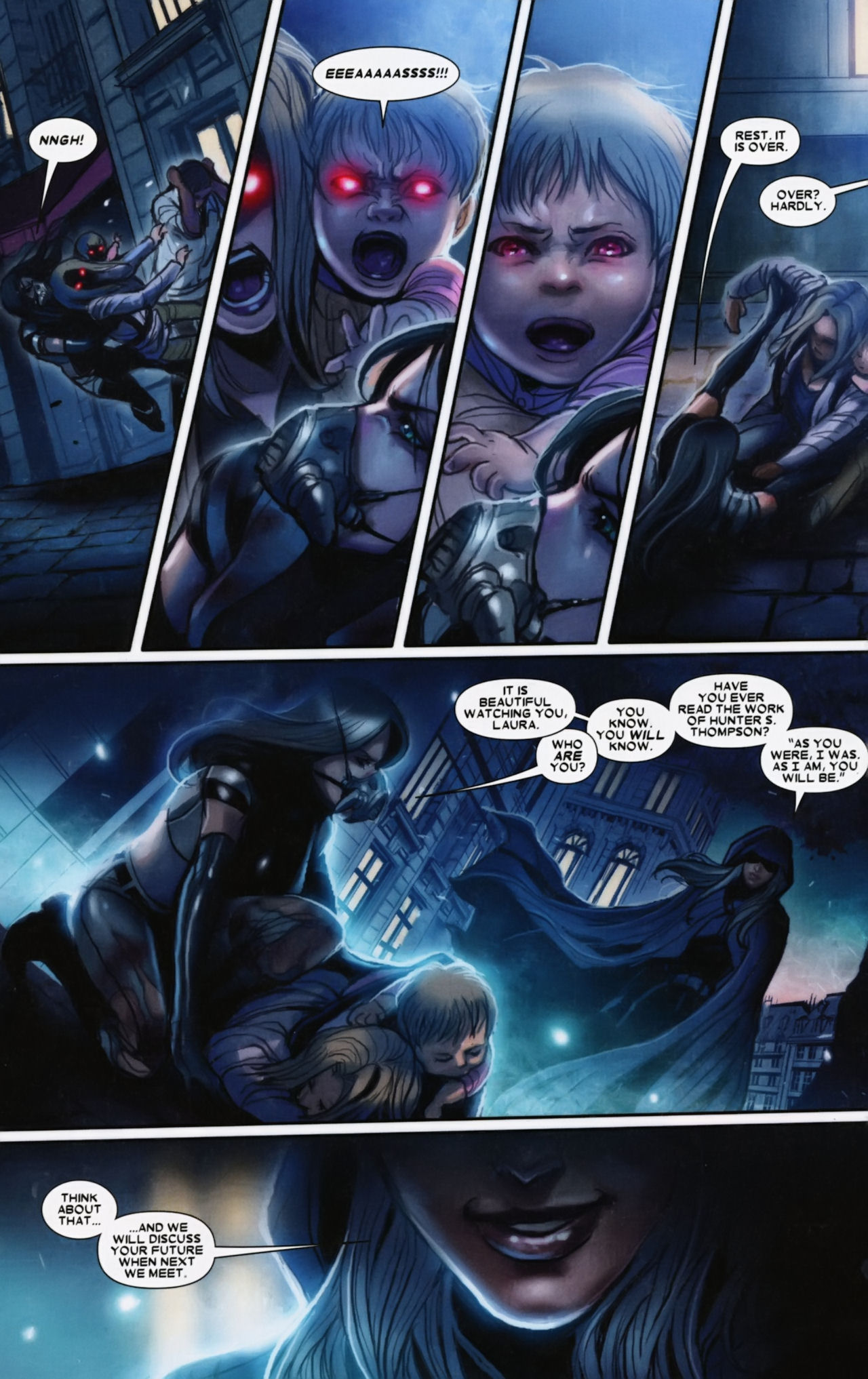 Read online X-23 (2010) comic -  Issue #12 - 14