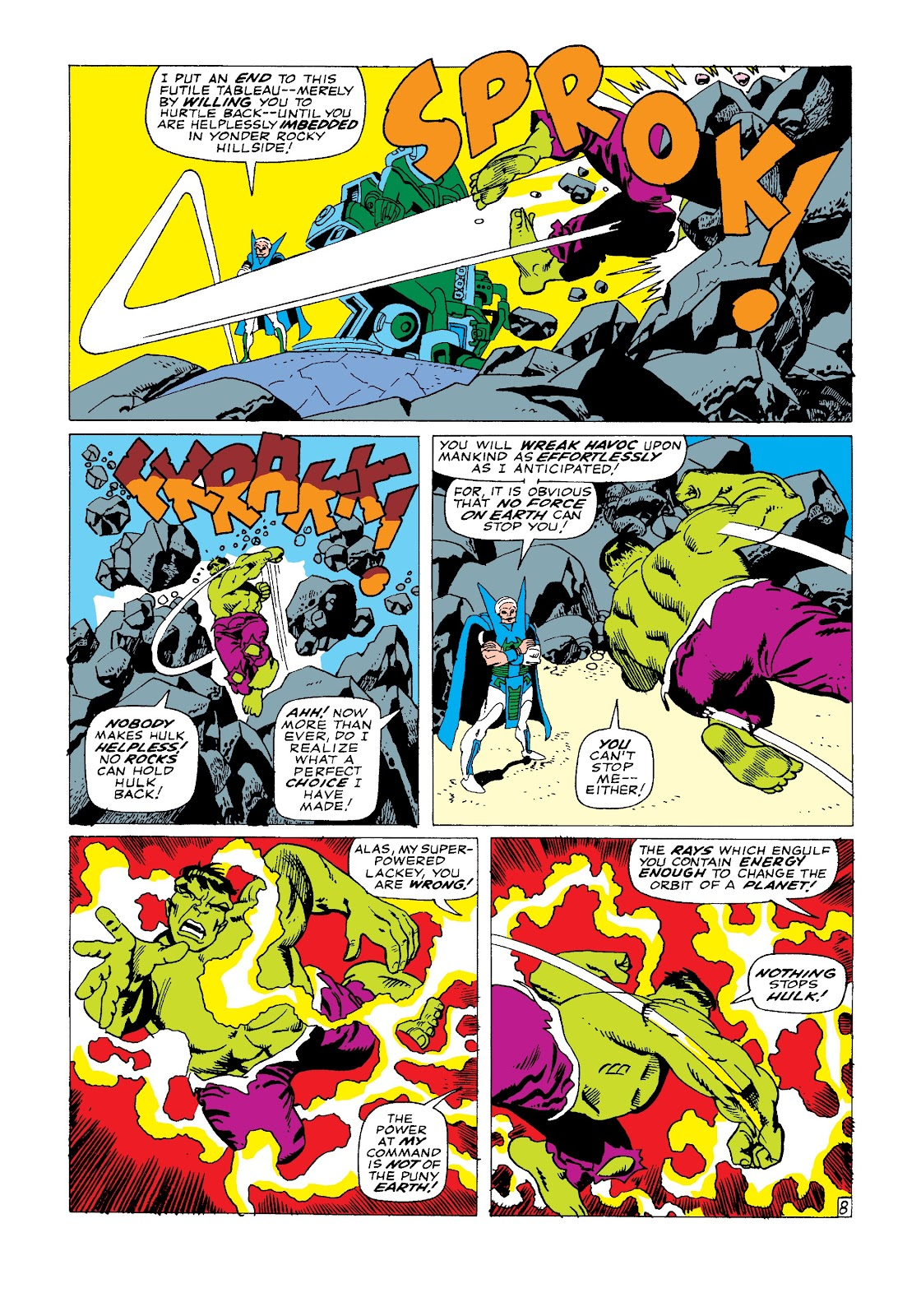 Read online Marvel Masterworks: The Incredible Hulk comic -  Issue # TPB 3 (Part 2) - 14