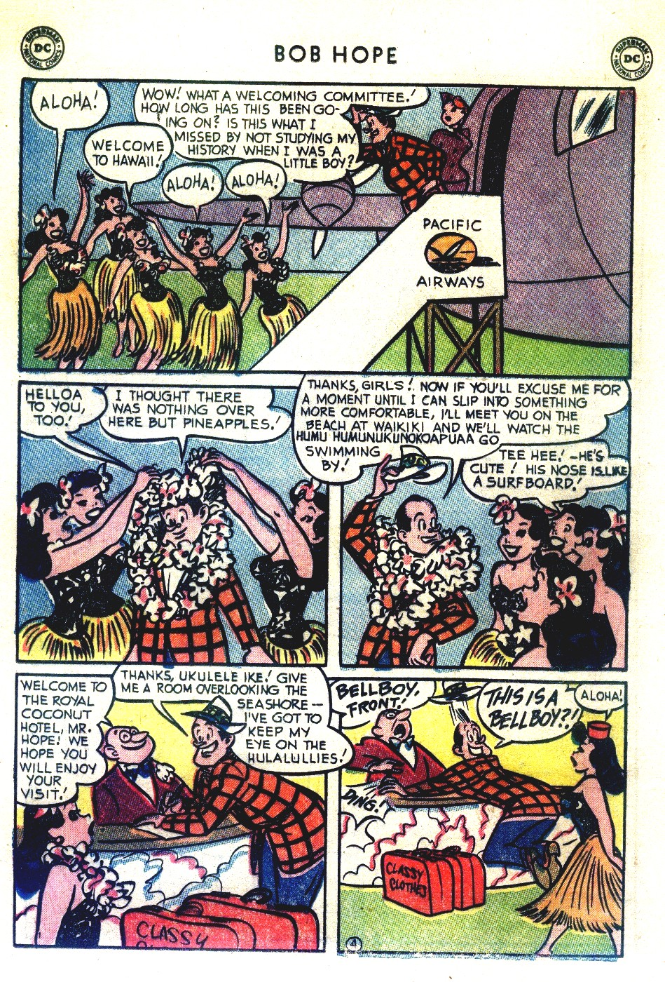 The Adventures of Bob Hope issue 27 - Page 18