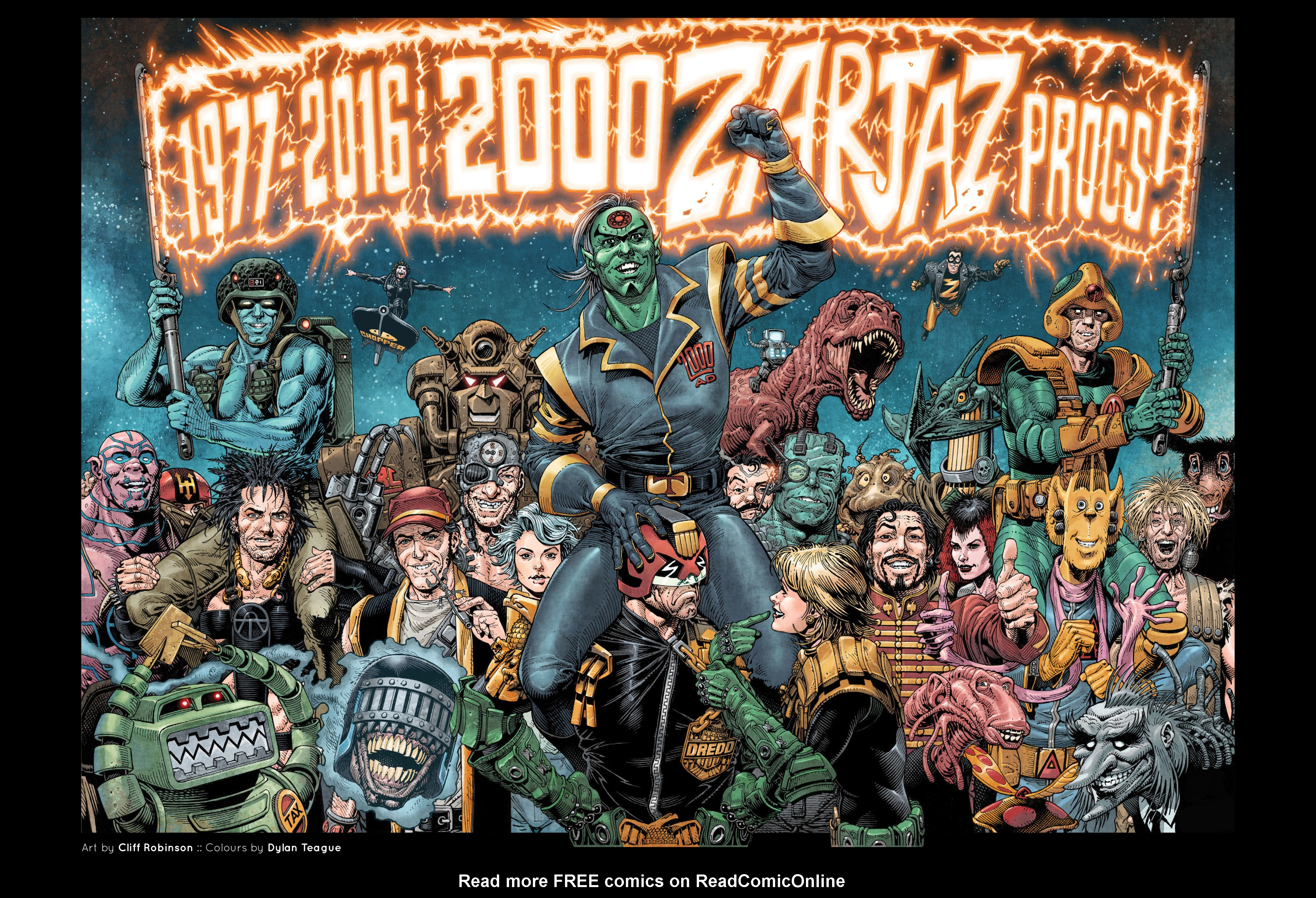 Read online 2000 AD comic -  Issue #2000 - 53